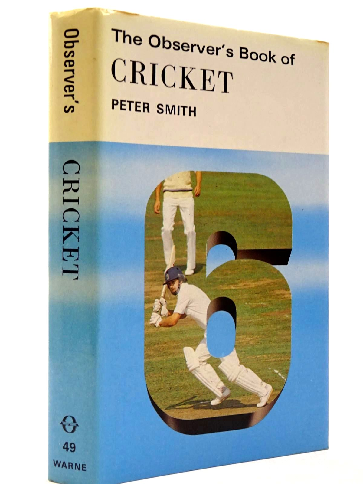 Photo of THE OBSERVER'S BOOK OF CRICKET (CYANAMID WRAPPER)- Stock Number: 2130415