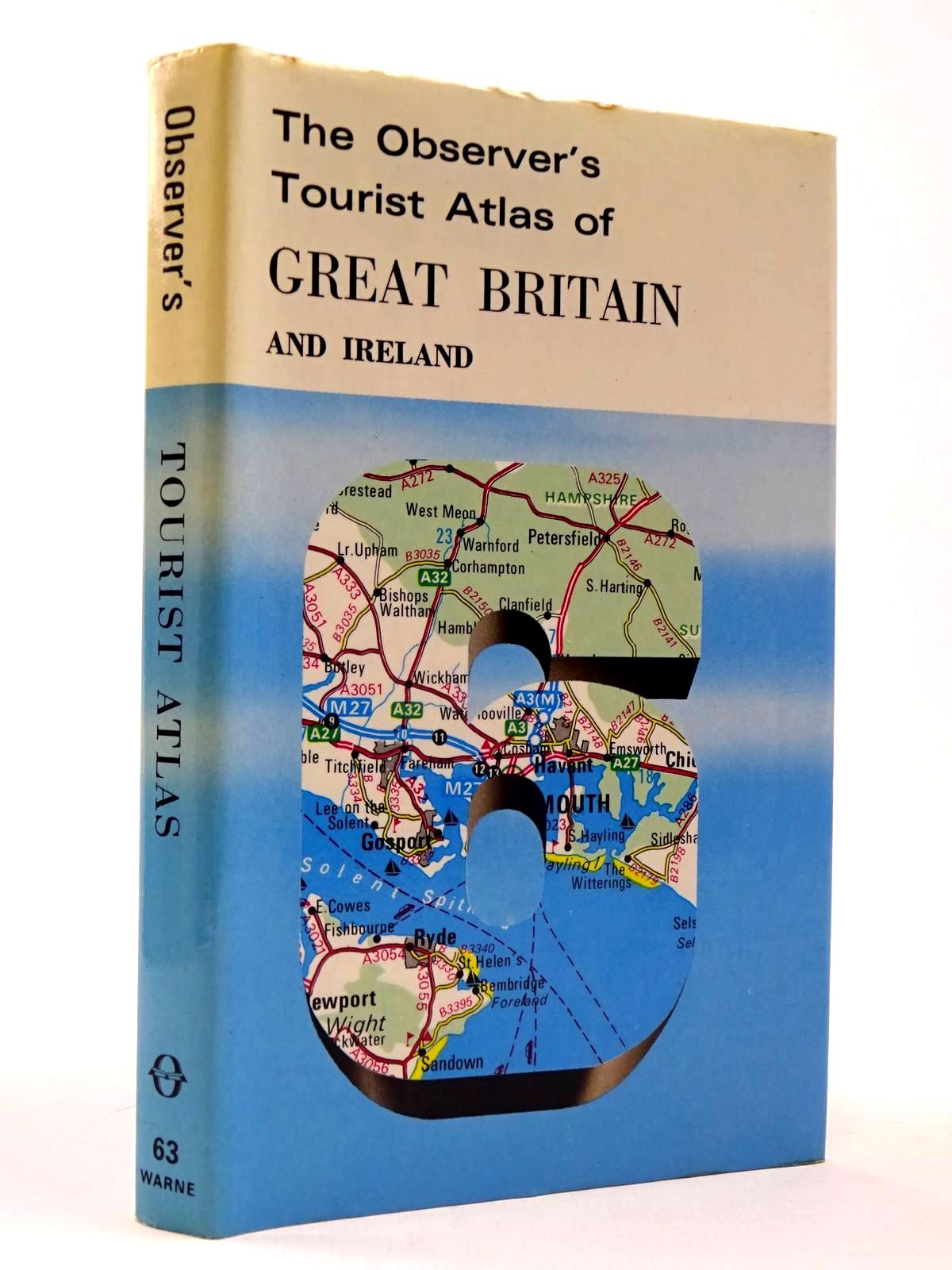 Photo of THE OBSERVER'S TOURIST ATLAS OF GREAT BRITAIN AND IRELAND (CYANAMID WRAPPER) written by Bartholomew, John published by Frederick Warne & Co Ltd. (STOCK CODE: 2130420)  for sale by Stella & Rose's Books