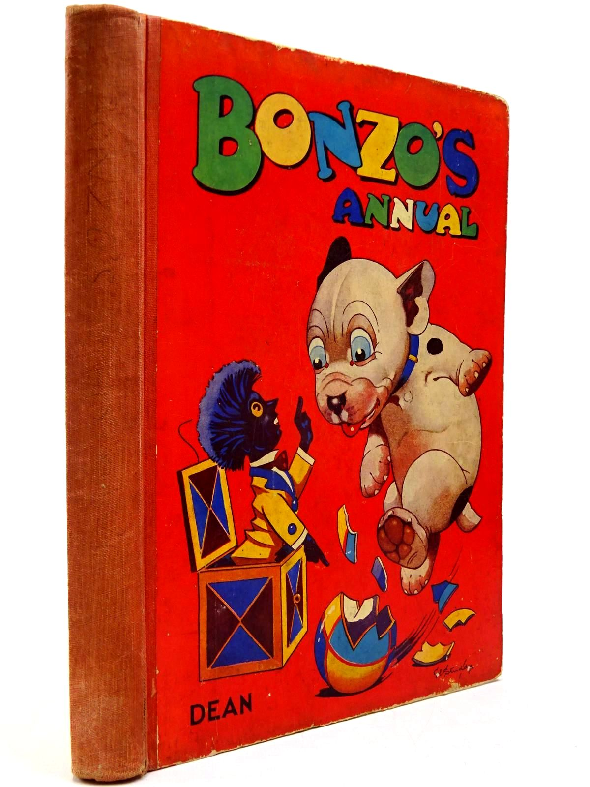 Photo of BONZO'S ANNUAL 1947 written by Studdy, G.E. illustrated by Studdy, G.E. published by Dean & Son Ltd. (STOCK CODE: 2130432)  for sale by Stella & Rose's Books