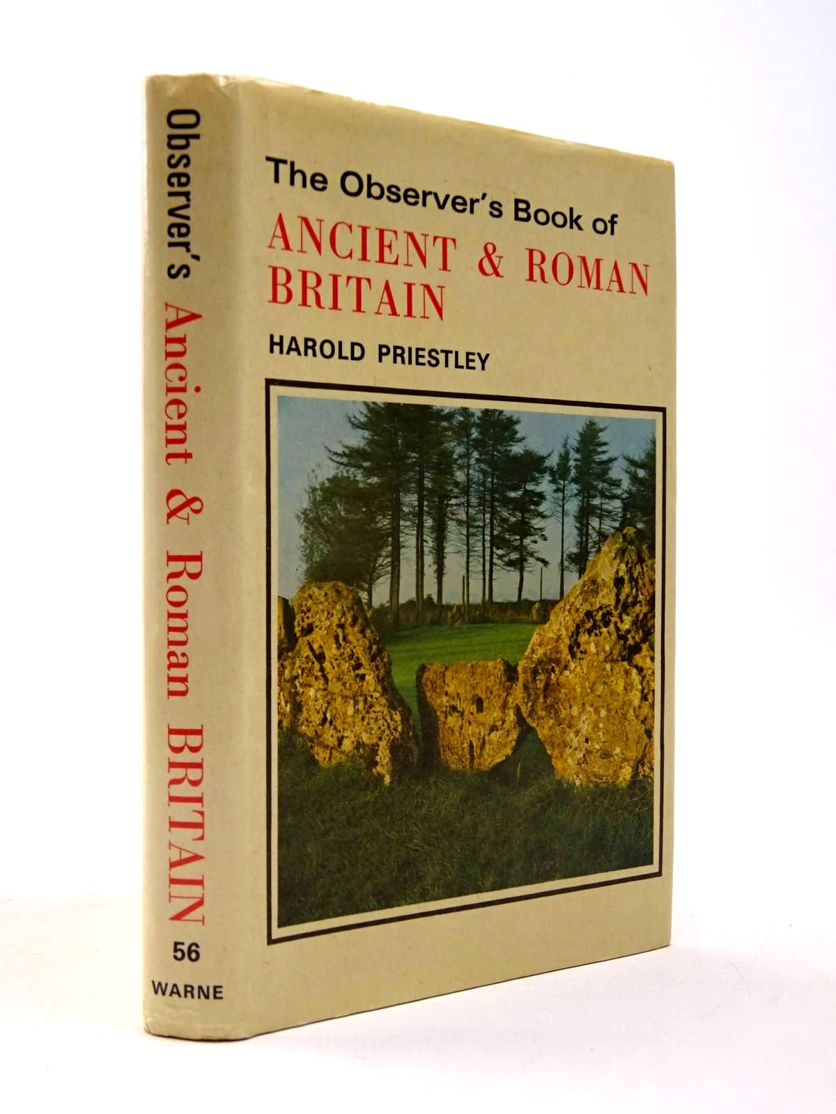 Photo of THE OBSERVER'S BOOK OF ANCIENT AND ROMAN BRITAIN- Stock Number: 2130433