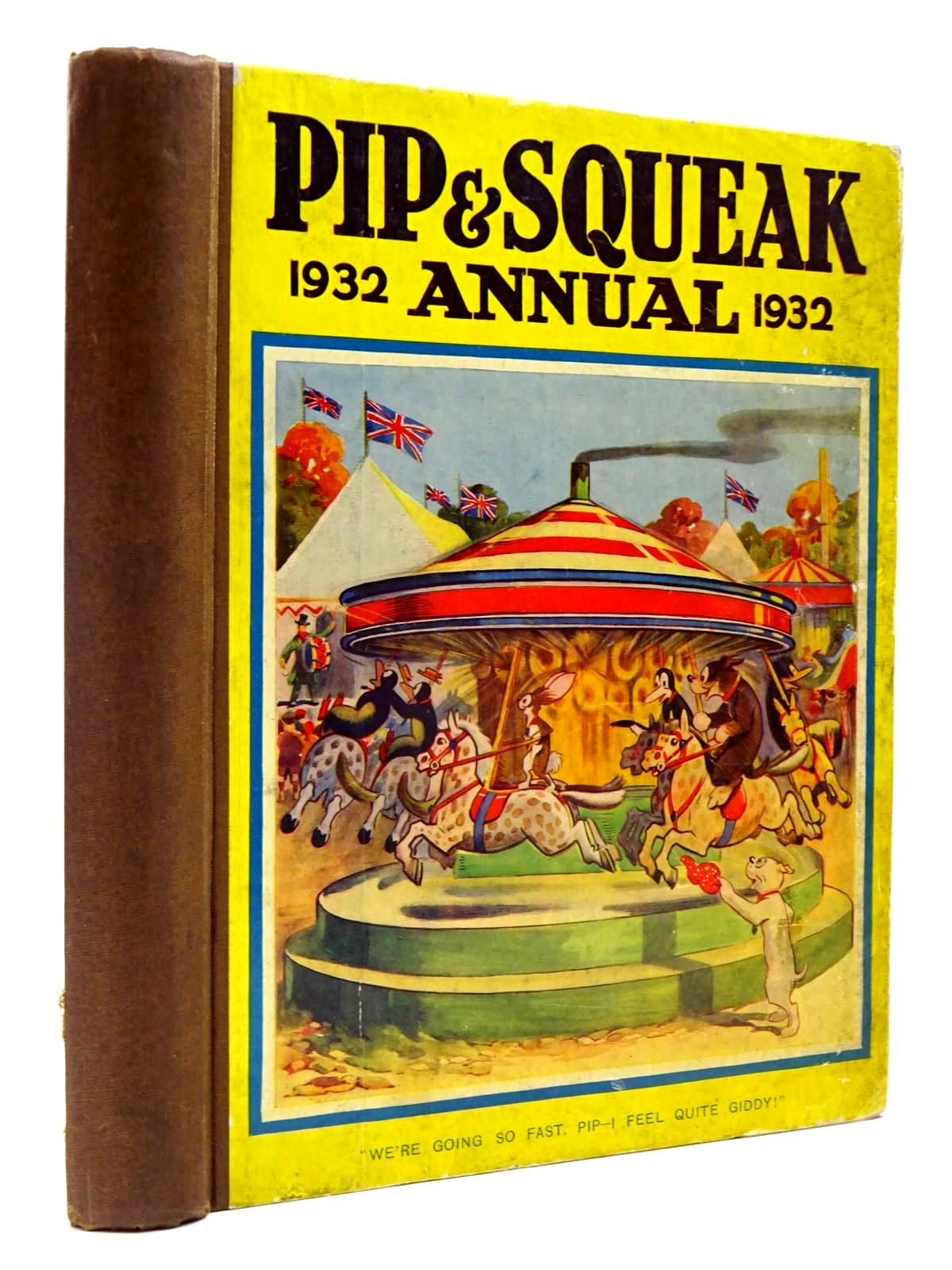 Photo of PIP & SQUEAK ANNUAL 1932 published by Daily Mirror (STOCK CODE: 2130453)  for sale by Stella & Rose's Books