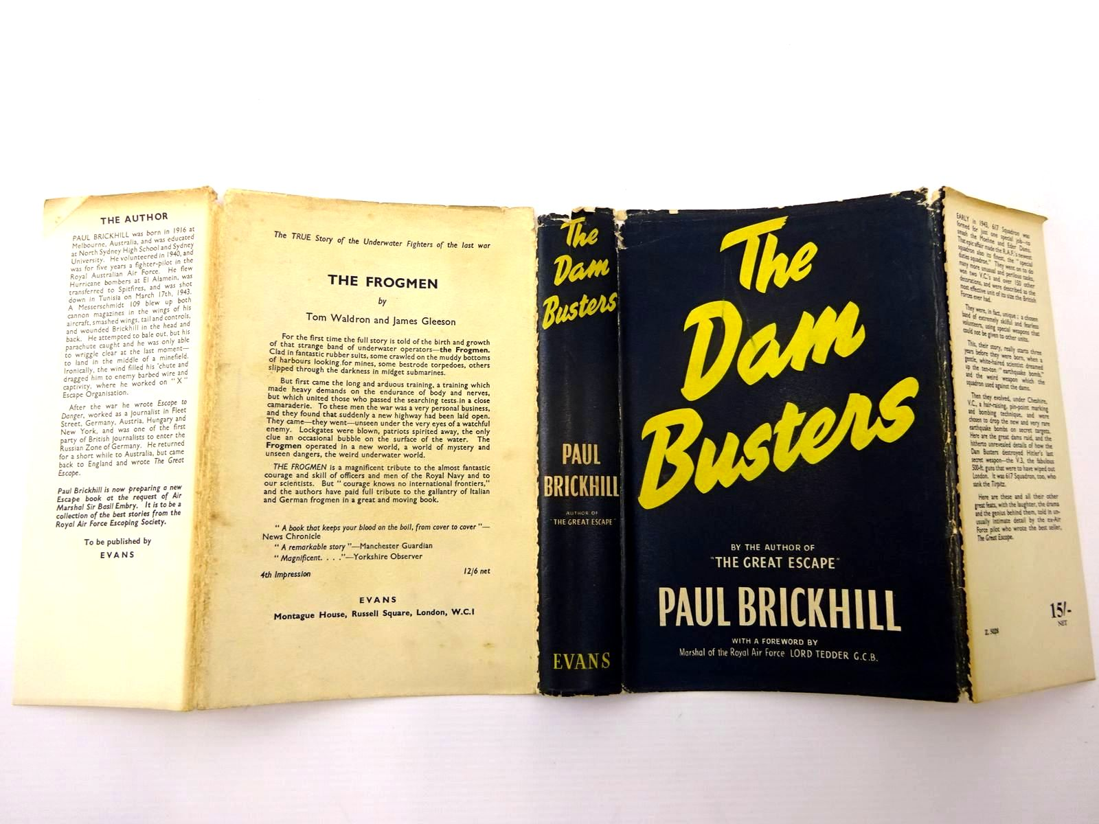 Photo of THE DAM BUSTERS written by Brickhill, Paul published by Evans Brothers Limited (STOCK CODE: 2130457)  for sale by Stella & Rose's Books