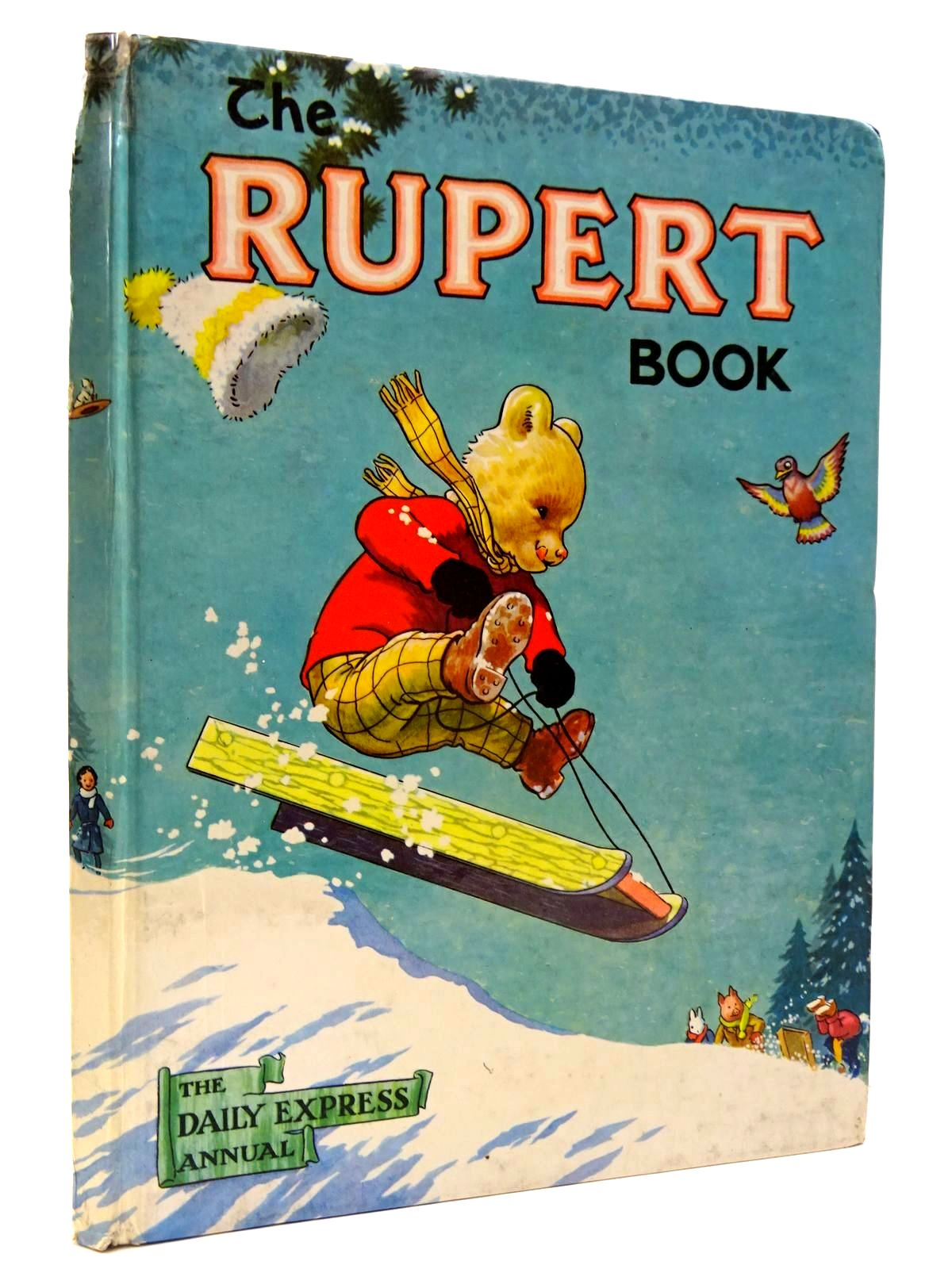 Photo of RUPERT ANNUAL 1956 - THE RUPERT BOOK written by Bestall, Alfred illustrated by Bestall, Alfred published by Oldbourne Book Co. Ltd. (STOCK CODE: 2130458)  for sale by Stella & Rose's Books