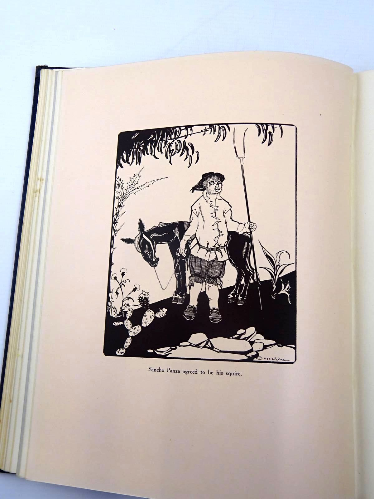 Photo of THE HISTORY OF DON QUIXOTE DE LA MANCHA written by De Cervantes, Miguel illustrated by De Bosschere, Jean published by Constable and Company Ltd. (STOCK CODE: 2130460)  for sale by Stella & Rose's Books
