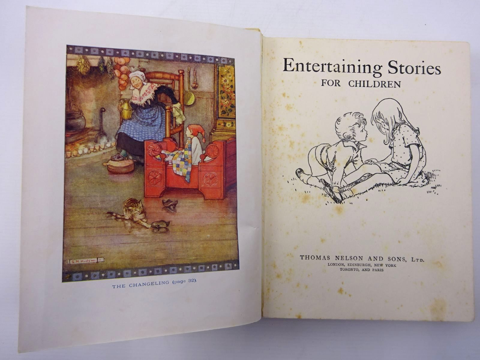 Photo of ENTERTAINING STORIES FOR CHILDREN written by Blyton, Enid