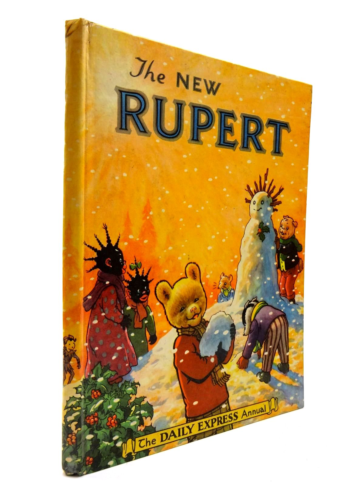 Photo of RUPERT ANNUAL 1954 - THE NEW RUPERT written by Bestall, Alfred illustrated by Bestall, Alfred published by Daily Express (STOCK CODE: 2130475)  for sale by Stella & Rose's Books