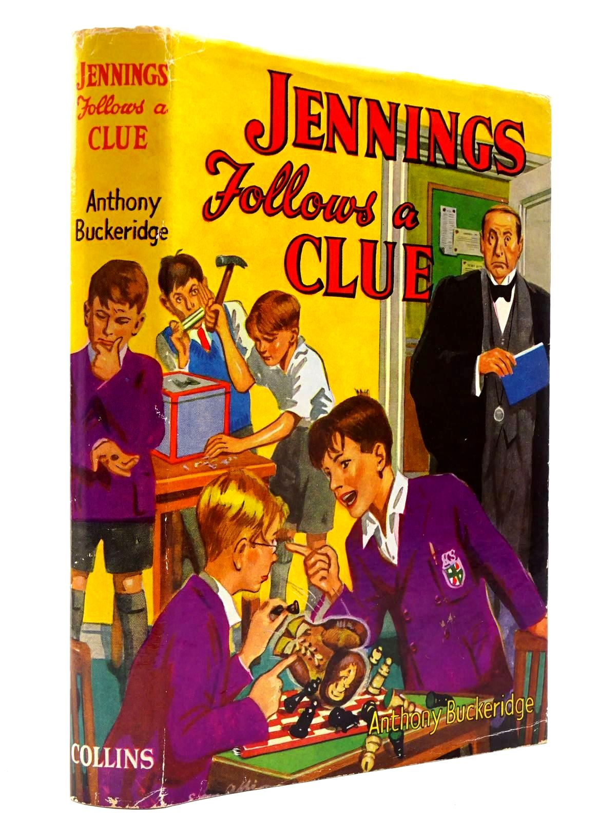 Photo of JENNINGS FOLLOWS A CLUE written by Buckeridge, Anthony published by Collins (STOCK CODE: 2130508)  for sale by Stella & Rose's Books