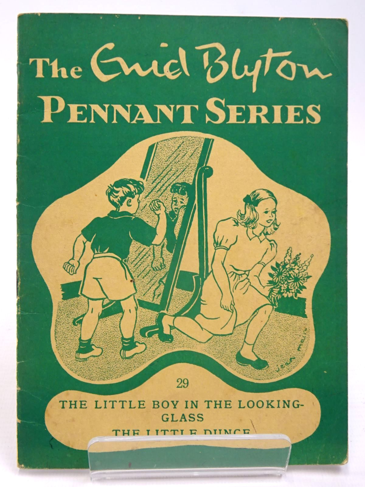 Photo of THE ENID BLYTON PENNANT SERIES No. 29 THE LITTLE BOY IN THE LOOKING-GLASS / THE LITTLE DUNCE written by Blyton, Enid illustrated by Soper, Eileen Main, Jean published by Macmillan & Co. Ltd. (STOCK CODE: 2130512)  for sale by Stella & Rose's Books