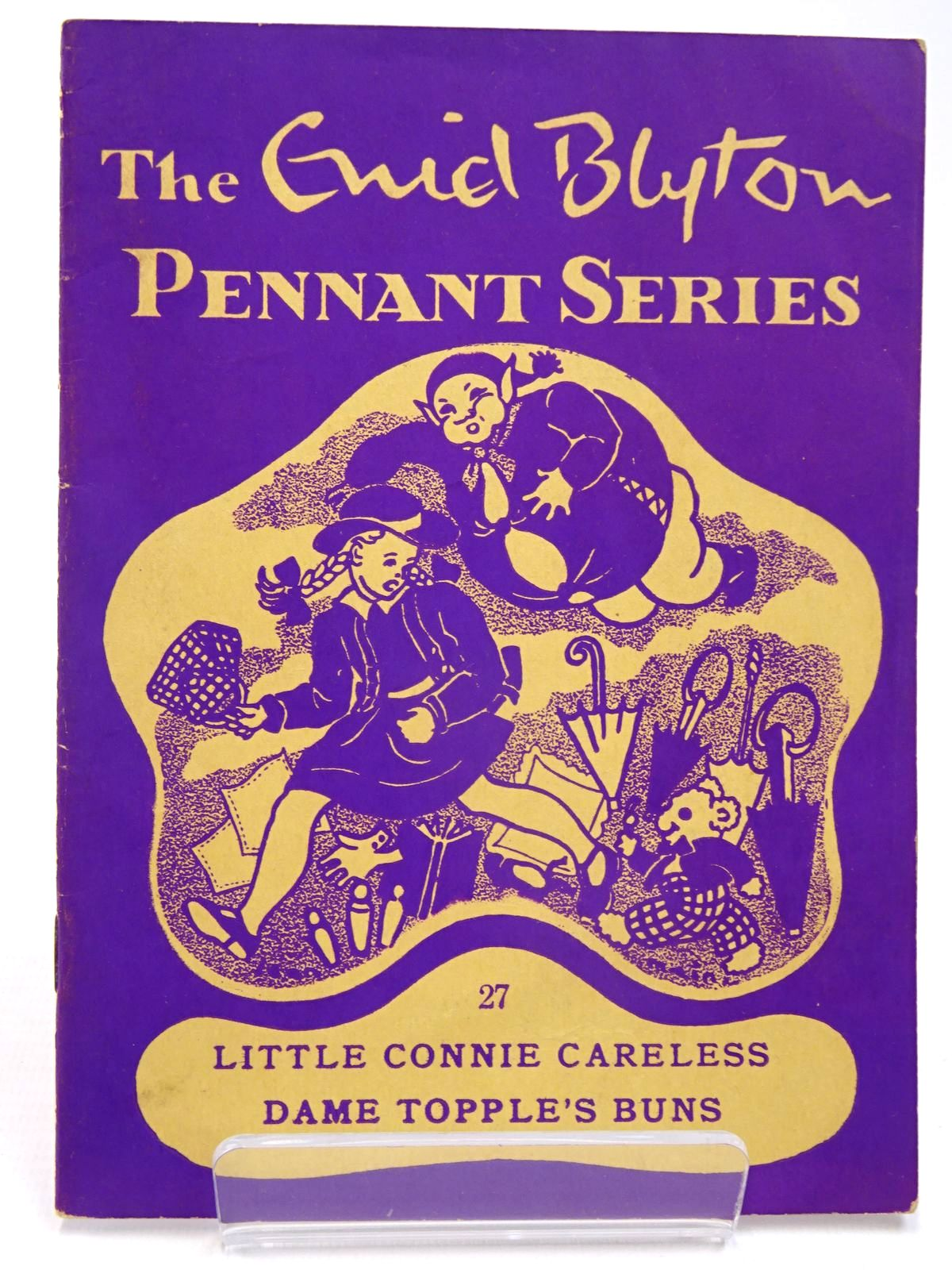 Photo of THE ENID BLYTON PENNANT SERIES No. 27 LITTLE CONNIE CARELESS / DAME TOPPLE'S BUNS written by Blyton, Enid illustrated by Soper, Eileen Main, Jean published by Macmillan & Co. Ltd. (STOCK CODE: 2130513)  for sale by Stella & Rose's Books