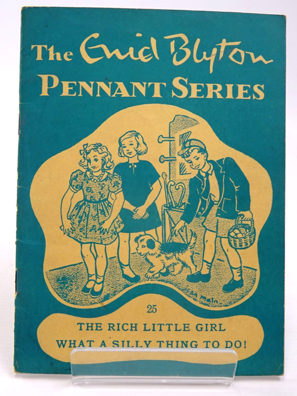 Photo of THE ENID BLYTON PENNANT SERIES No. 25 THE RICH LITTLE GIRL / WHAT A SILLY THING TO DO! written by Blyton, Enid illustrated by Soper, Eileen<br />Main, Jean published by Macmillan &amp; Co. Ltd. (STOCK CODE: 2130514)  for sale by Stella & Rose's Books