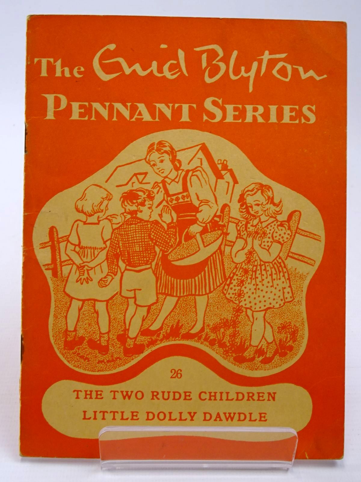 Photo of THE ENID BLYTON PENNANT SERIES No. 26 THE TWO RUDE CHILDREN / LITTLE DOLLY DAWDLE written by Blyton, Enid illustrated by Soper, Eileen Main, Jean published by Macmillan & Co. Ltd. (STOCK CODE: 2130515)  for sale by Stella & Rose's Books