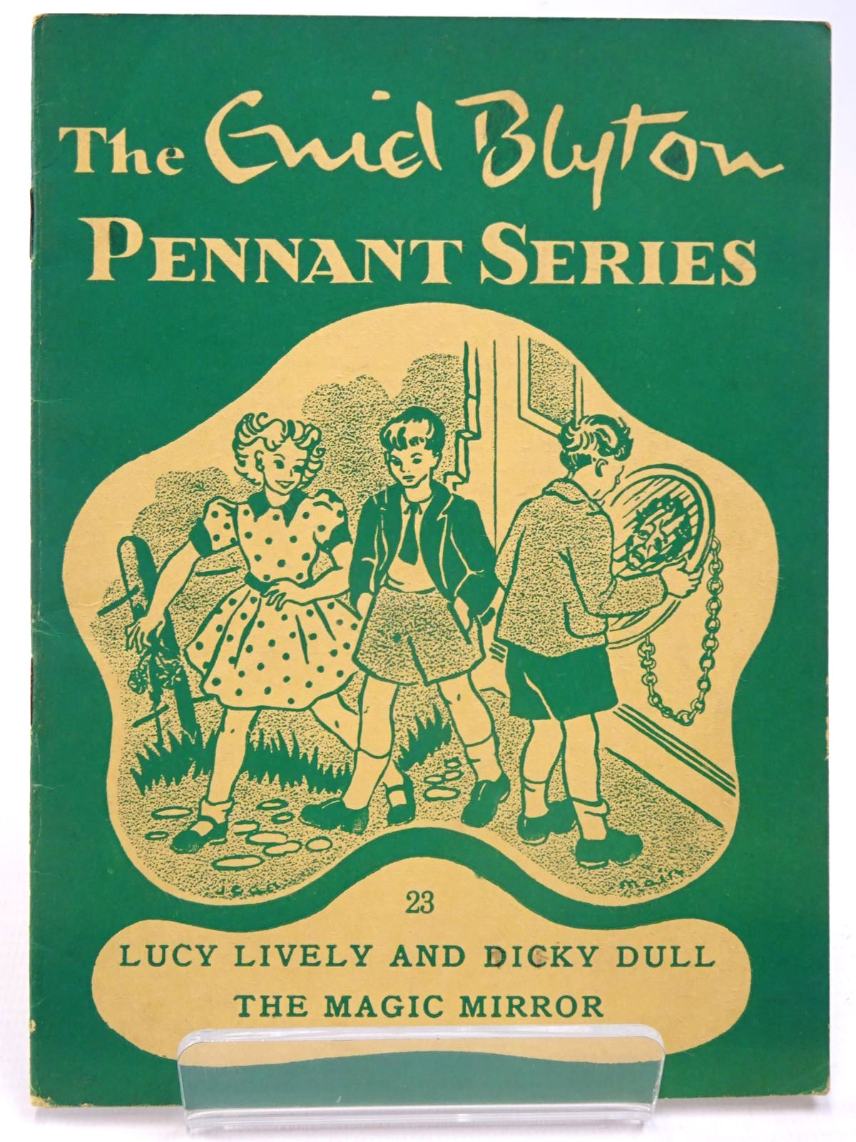 Photo of THE ENID BLYTON PENNANT SERIES No. 23 LUCY LIVELY AND DICKY DULL / THE MAGIC MIRROR- Stock Number: 2130516