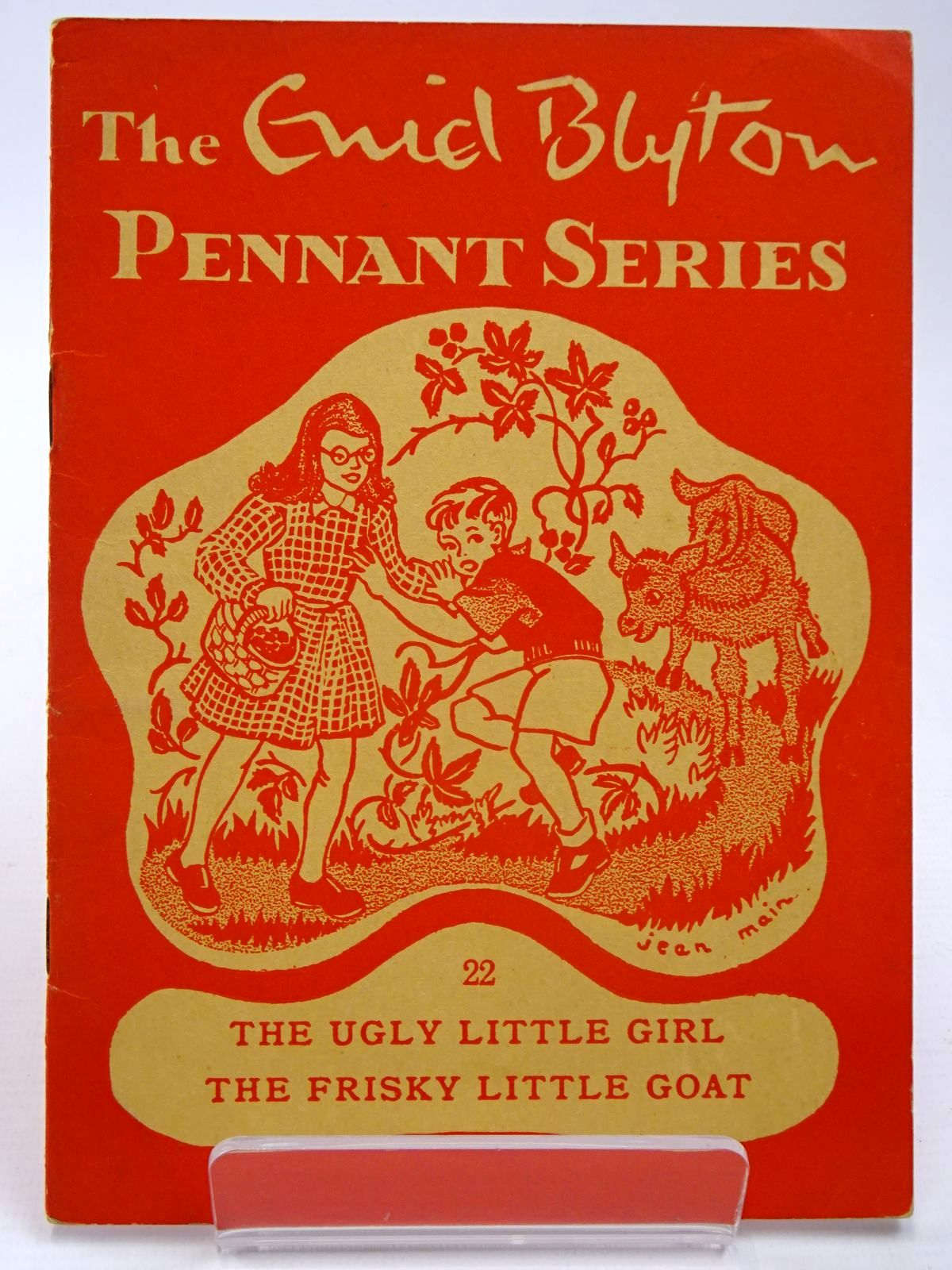 Photo of THE ENID BLYTON PENNANT SERIES No. 22 THE UGLY LITTLE GIRL / THE FRISKY LITTLE GOAT written by Blyton, Enid illustrated by Soper, Eileen Main, Jean published by Macmillan & Co. Ltd. (STOCK CODE: 2130517)  for sale by Stella & Rose's Books