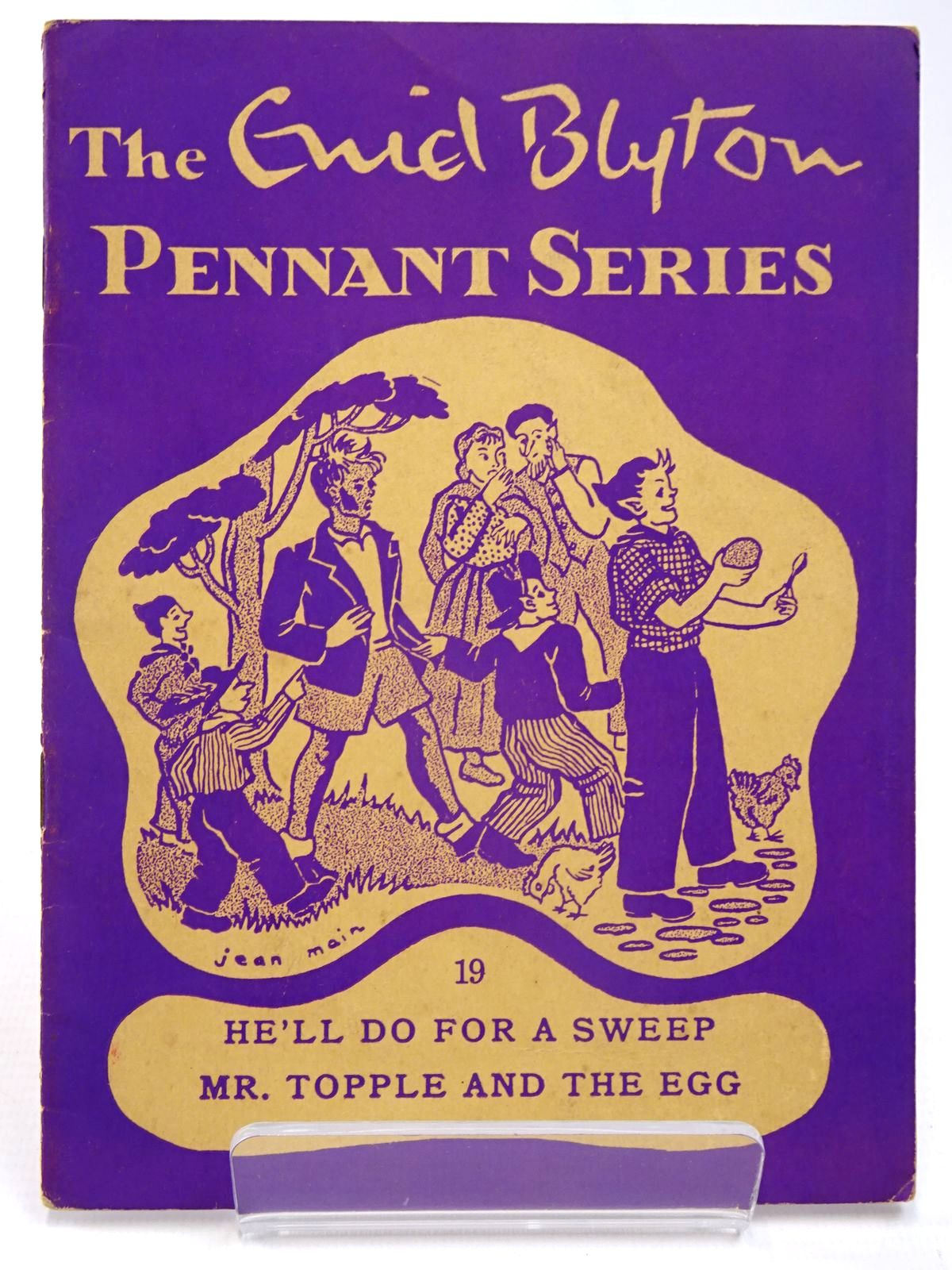 Photo of THE ENID BLYTON PENNANT SERIES No. 19 HE'LL DO FOR A SWEEP / MR. TOPPLE AND THE EGG written by Blyton, Enid illustrated by Soper, Eileen Main, Jean published by Macmillan & Co. Ltd. (STOCK CODE: 2130518)  for sale by Stella & Rose's Books
