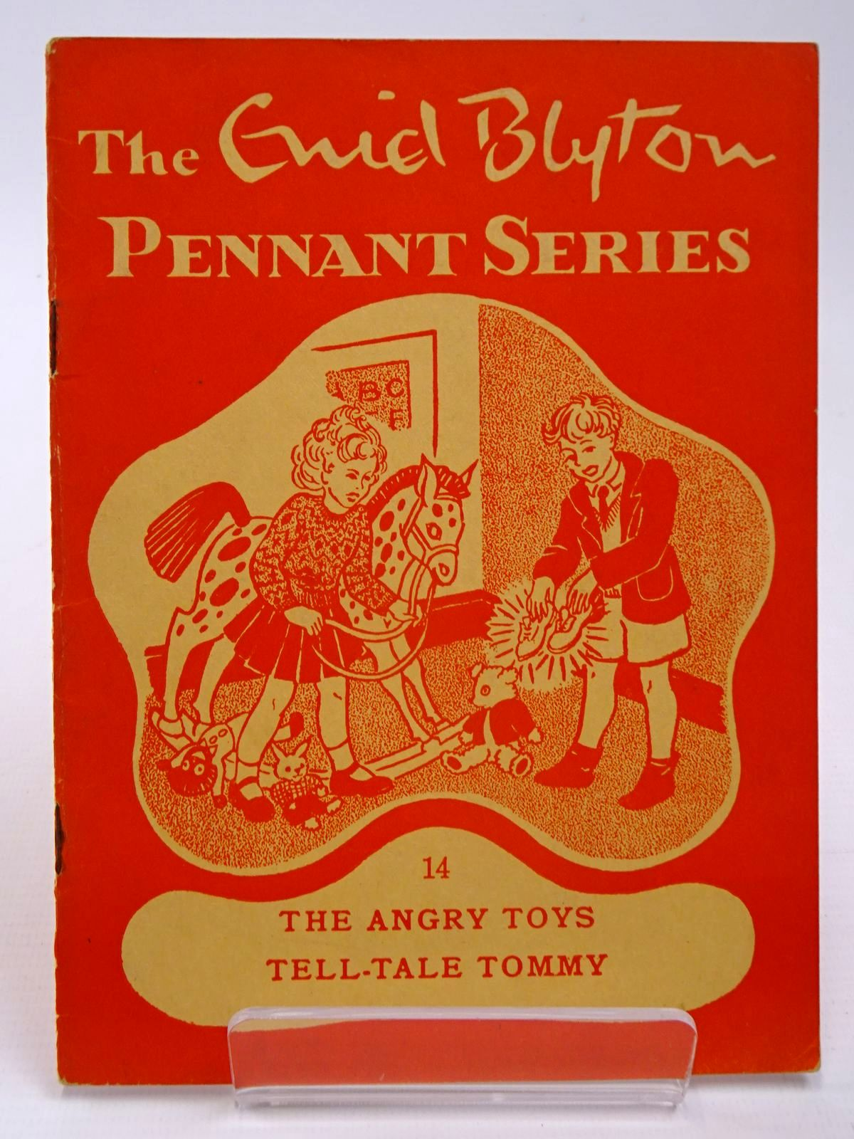 Photo of THE ENID BLYTON PENNANT SERIES No. 14 THE ANGRY TOYS / TELL-TALE TOMMY written by Blyton, Enid illustrated by Soper, Eileen Main, Jean published by Macmillan & Co. Ltd. (STOCK CODE: 2130520)  for sale by Stella & Rose's Books