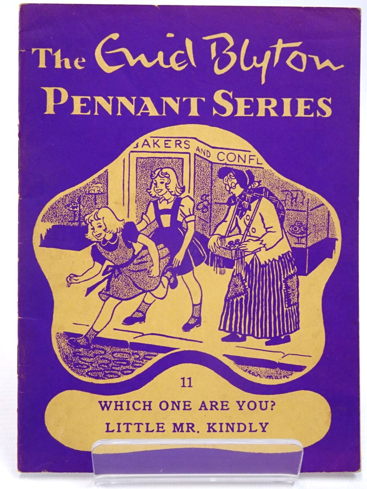 Photo of THE ENID BLYTON PENNANT SERIES No. 11 WHICH ONE ARE YOU? / LITTLE MR. KINDLY written by Blyton, Enid illustrated by Soper, Eileen Main, Jean published by Macmillan & Co. Ltd. (STOCK CODE: 2130521)  for sale by Stella & Rose's Books