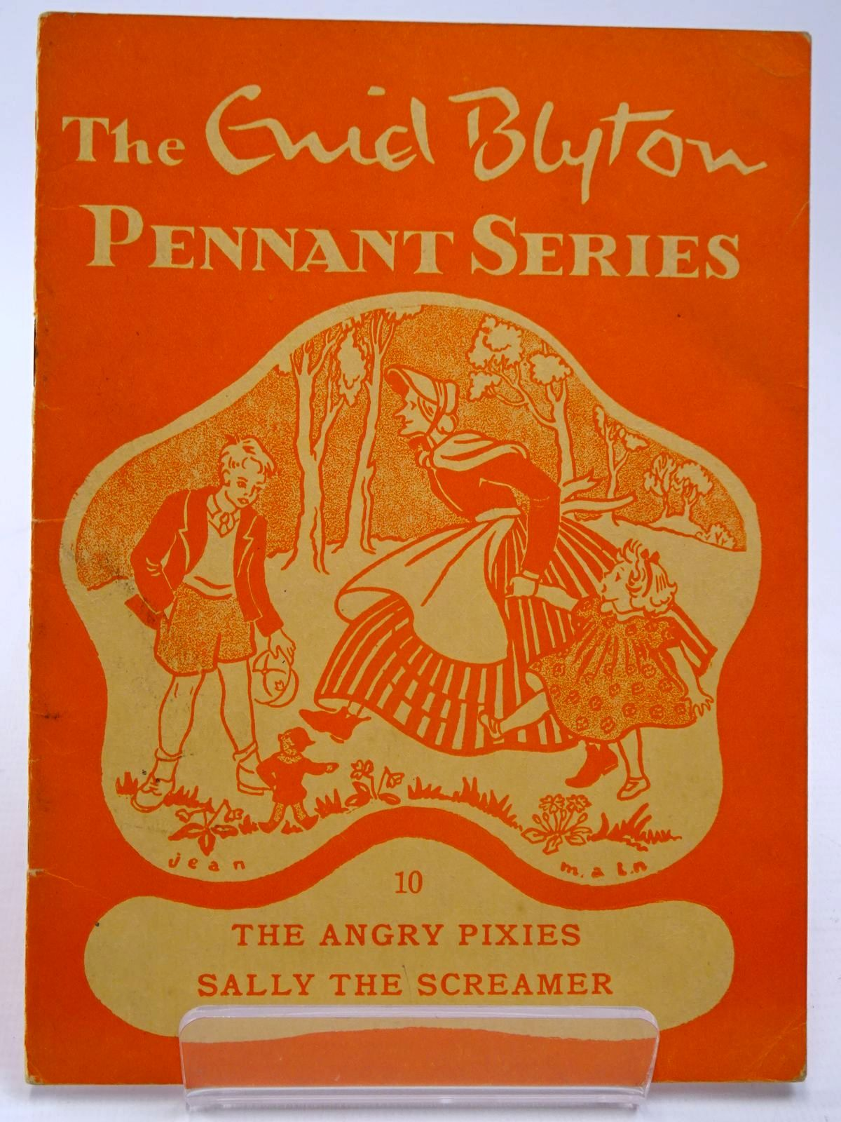 Photo of THE ENID BLYTON PENNANT SERIES No. 10 THE ANGRY PIXIES / SALLY THE SCREAMER- Stock Number: 2130522