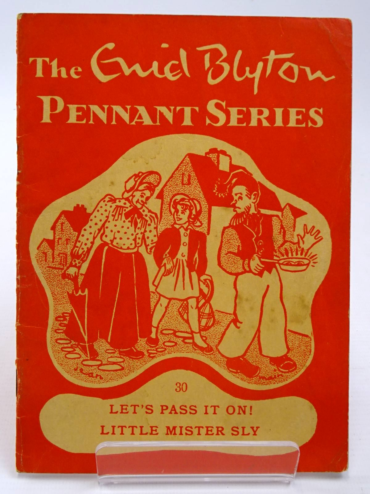 Photo of THE ENID BLYTON PENNANT SERIES No. 30 LET'S PASS IT ON! / LITTLE MISTER SLY written by Blyton, Enid illustrated by Soper, Eileen Main, Jean published by Macmillan & Co. Ltd. (STOCK CODE: 2130525)  for sale by Stella & Rose's Books