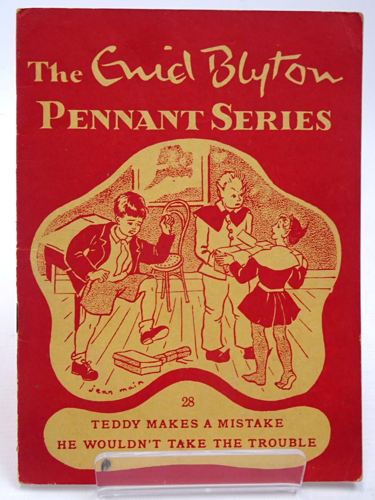 Photo of THE ENID BLYTON PENNANT SERIES No. 28 TEDDY MAKES A MISTAKE / HE WOULDN'T TAKE THE TROUBLE written by Blyton, Enid illustrated by Soper, Eileen Main, Jean published by Macmillan & Co. Ltd. (STOCK CODE: 2130526)  for sale by Stella & Rose's Books