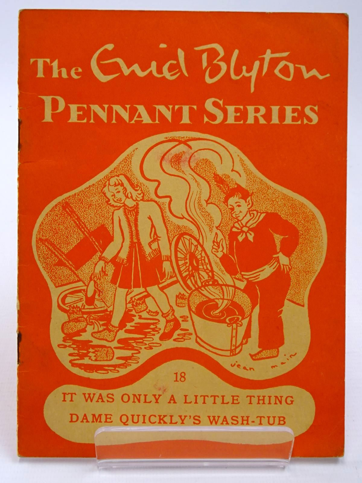 Photo of THE ENID BLYTON PENNANT SERIES No. 18 IT WAS ONLY A LITTLE THING / DAME QUICKLY'S WASH-TUB written by Blyton, Enid illustrated by Soper, Eileen Main, Jean published by Macmillan & Co. Ltd. (STOCK CODE: 2130527)  for sale by Stella & Rose's Books