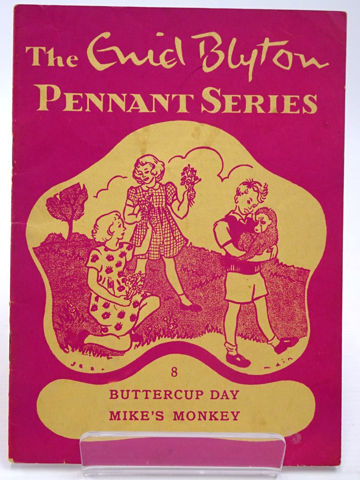 Photo of THE ENID BLYTON PENNANT SERIES No. 8 BUTTERCUP DAY / MIKE'S MONKEY- Stock Number: 2130529