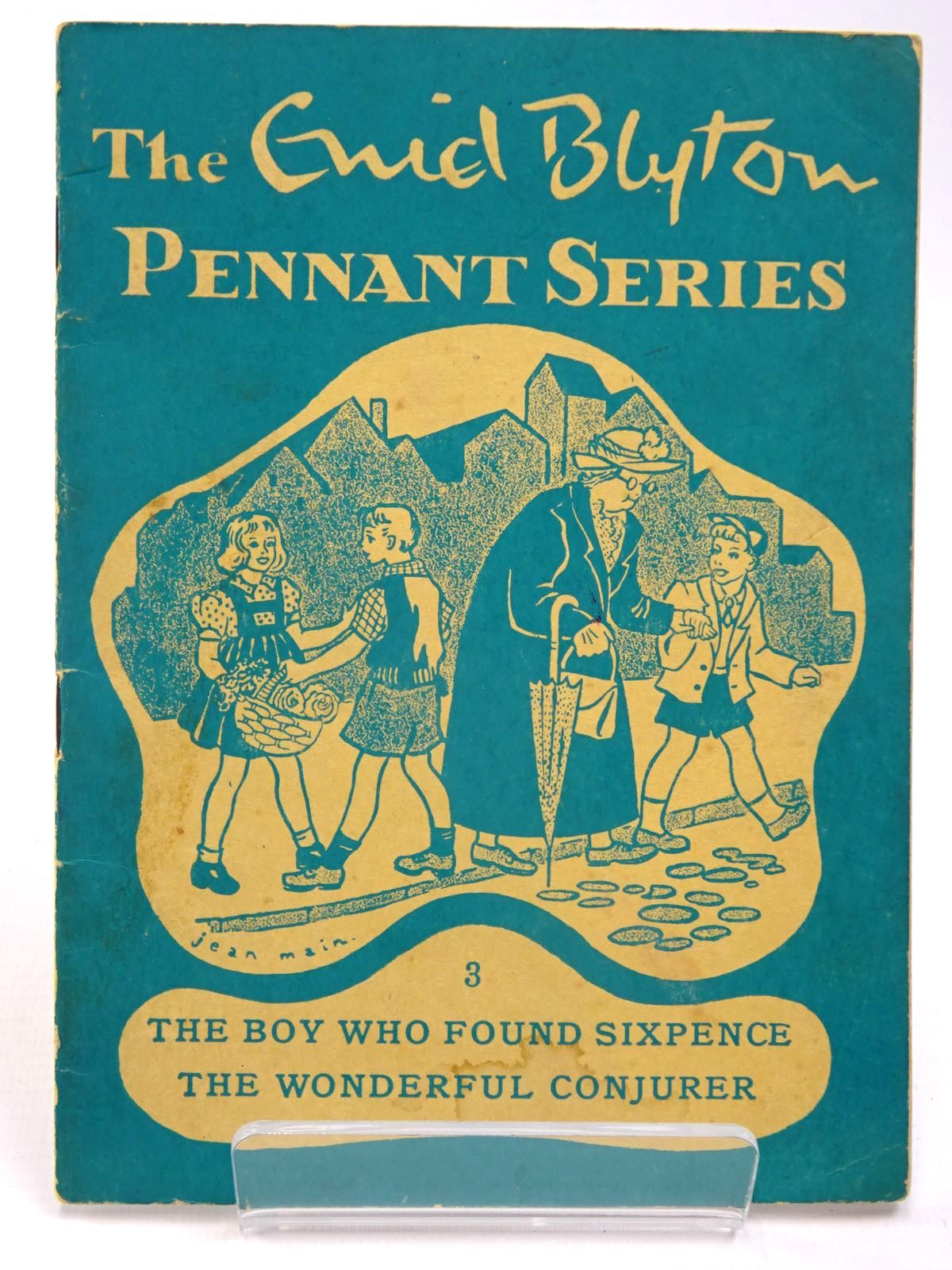Photo of THE ENID BLYTON PENNANT SERIES No. 3 THE BOY WHO FOUND SIXPENCE / THE WONDERFUL CONJURER- Stock Number: 2130531