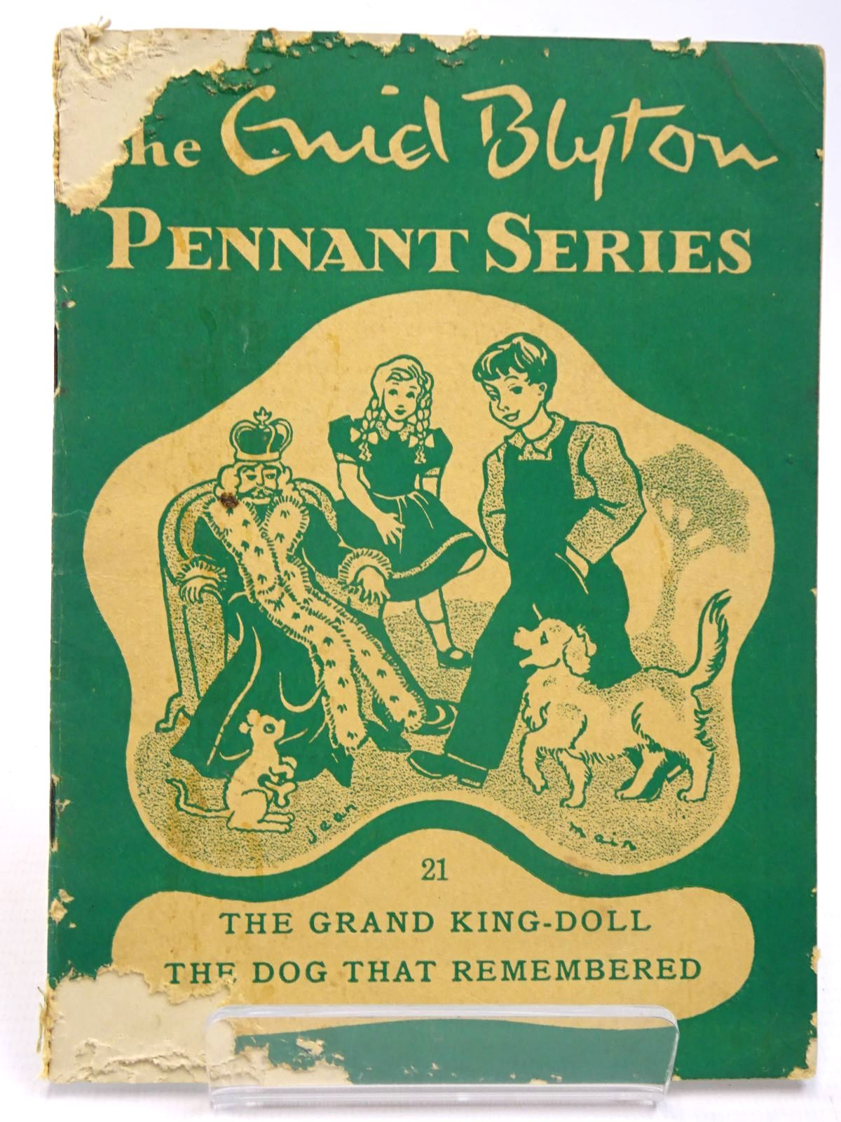 Photo of THE ENID BLYTON PENNANT SERIES No. 21 THE GRAND KING-DOLL / THE DOG THAT REMEMBERED- Stock Number: 2130533