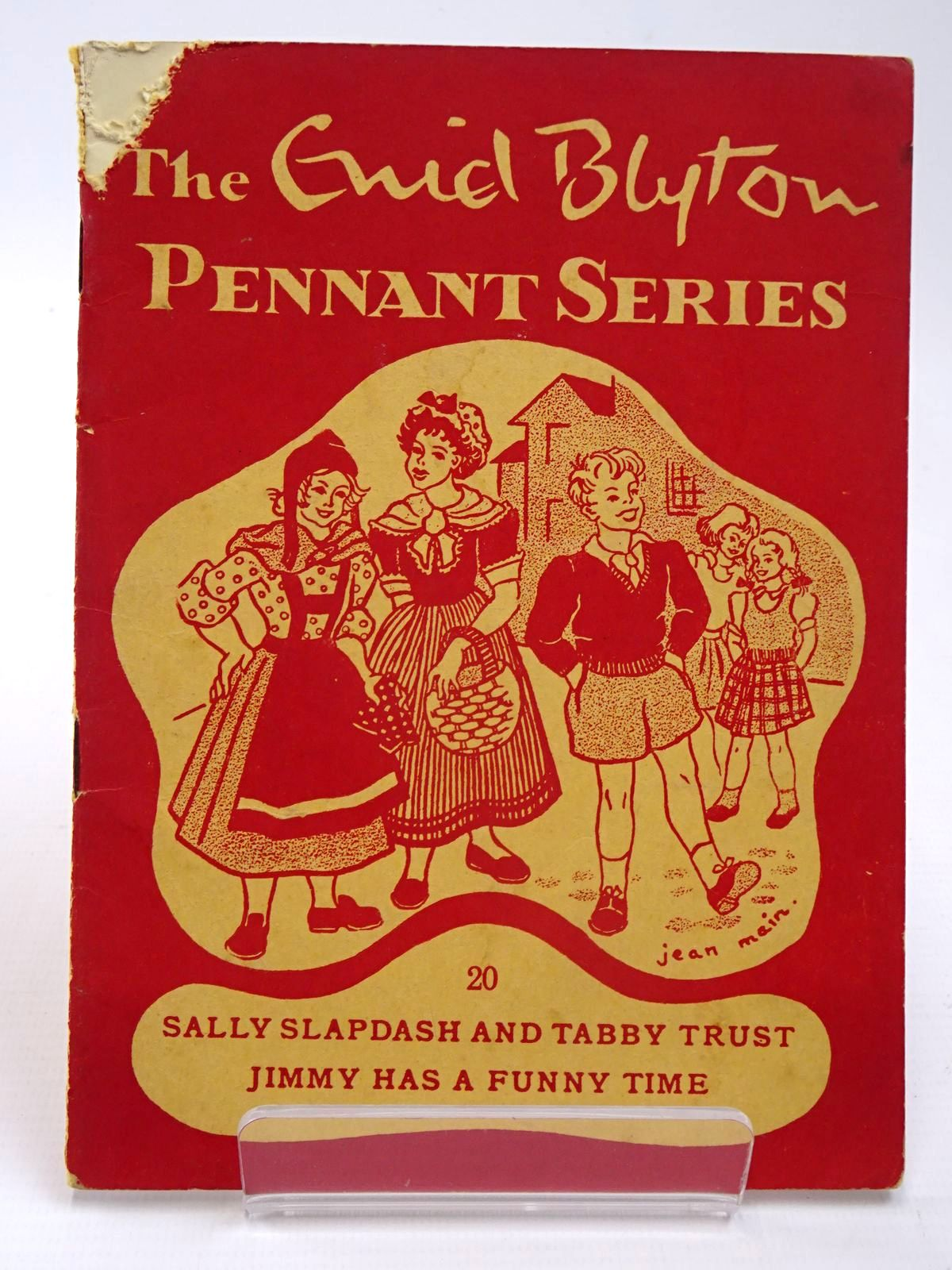 Photo of THE ENID BLYTON PENNANT SERIES No. 20 SALLY SLAPDASH AND TABBY TRUST / JIMMY HAS A FUNNY TIME- Stock Number: 2130534