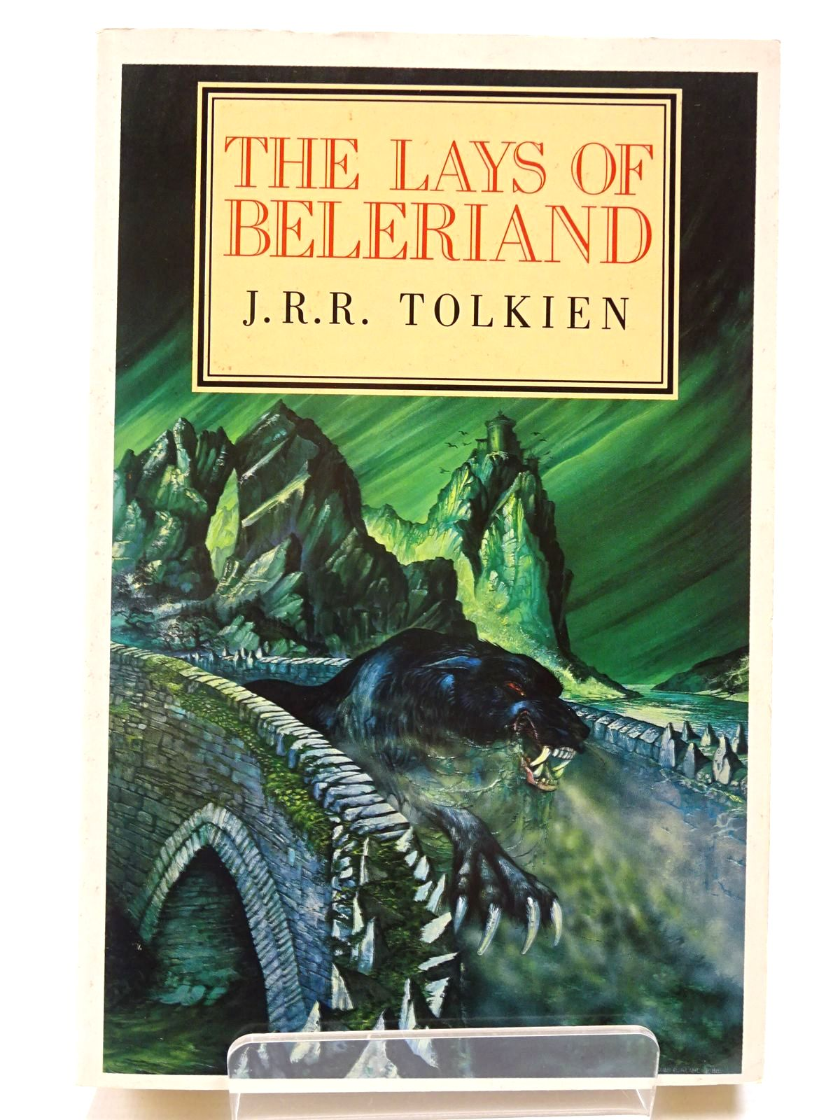 Photo of THE LAYS OF BELERIAND- Stock Number: 2130549
