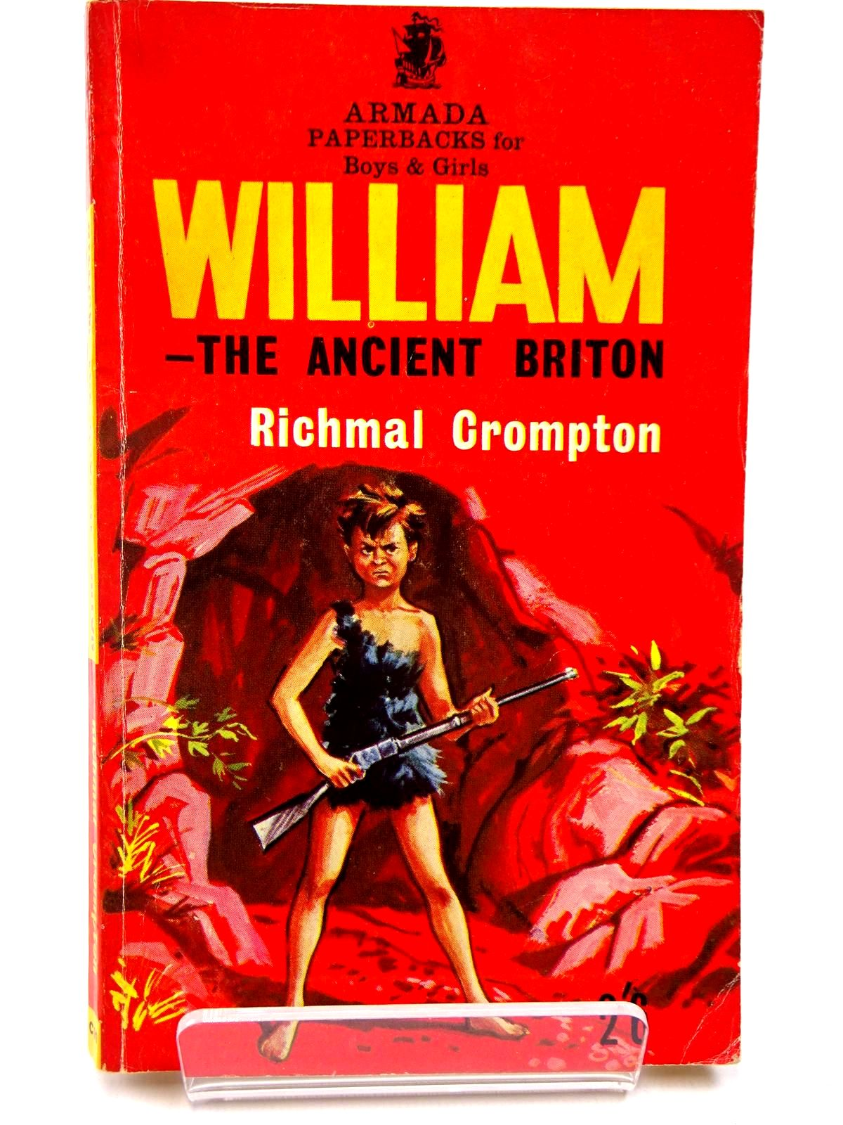 Photo of WILLIAM THE ANCIENT BRITON written by Crompton, Richmal illustrated by Archer, Peter published by Armada (STOCK CODE: 2130551)  for sale by Stella & Rose's Books