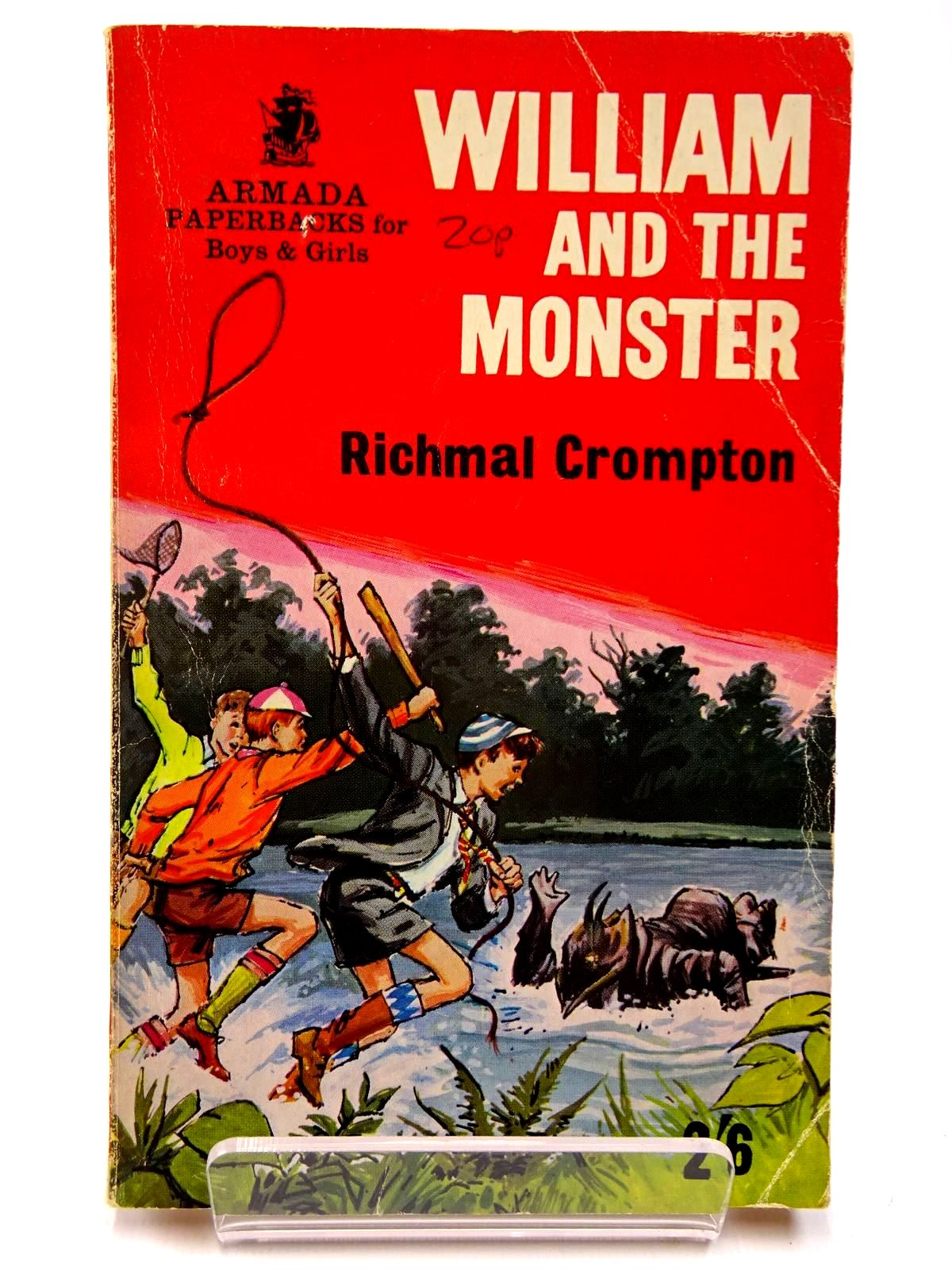 Photo of WILLIAM AND THE MONSTER written by Crompton, Richmal illustrated by Archer, Peter published by Armada (STOCK CODE: 2130552)  for sale by Stella & Rose's Books