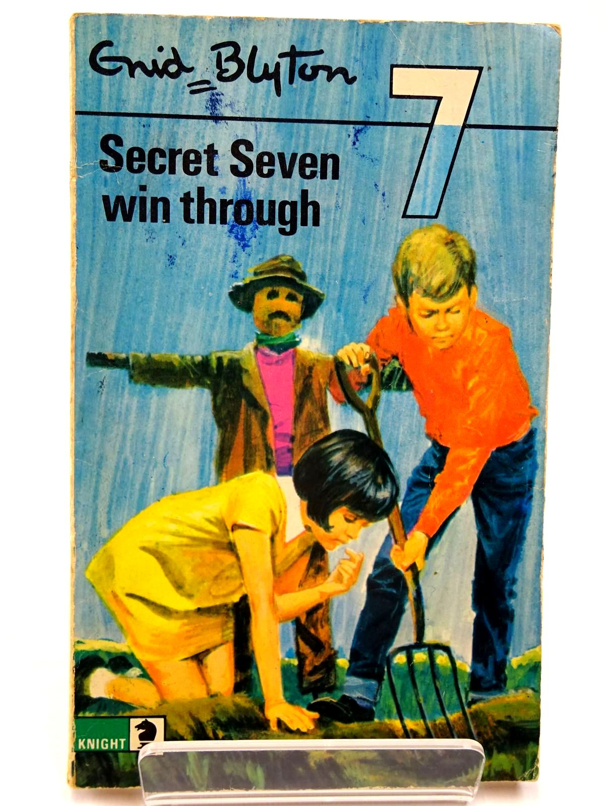 Photo of SECRET SEVEN WIN THROUGH written by Blyton, Enid illustrated by Lucas, Derek published by Knight Books (STOCK CODE: 2130556)  for sale by Stella & Rose's Books