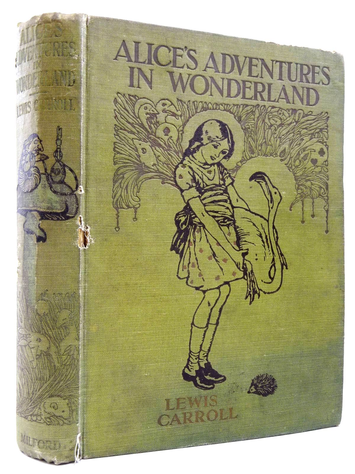 Photo of ALICE'S ADVENTURES IN WONDERLAND written by Carroll, Lewis illustrated by Jackson, A.E. published by Humphrey Milford (STOCK CODE: 2130564)  for sale by Stella & Rose's Books