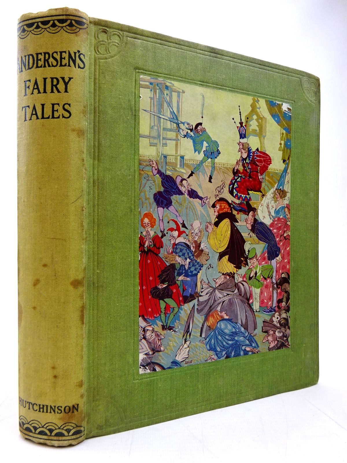 Photo of ANDERSEN'S FAIRY TALES written by Andersen, Hans Christian illustrated by Mercer, Joyce published by Hutchinson & Co. Ltd (STOCK CODE: 2130573)  for sale by Stella & Rose's Books