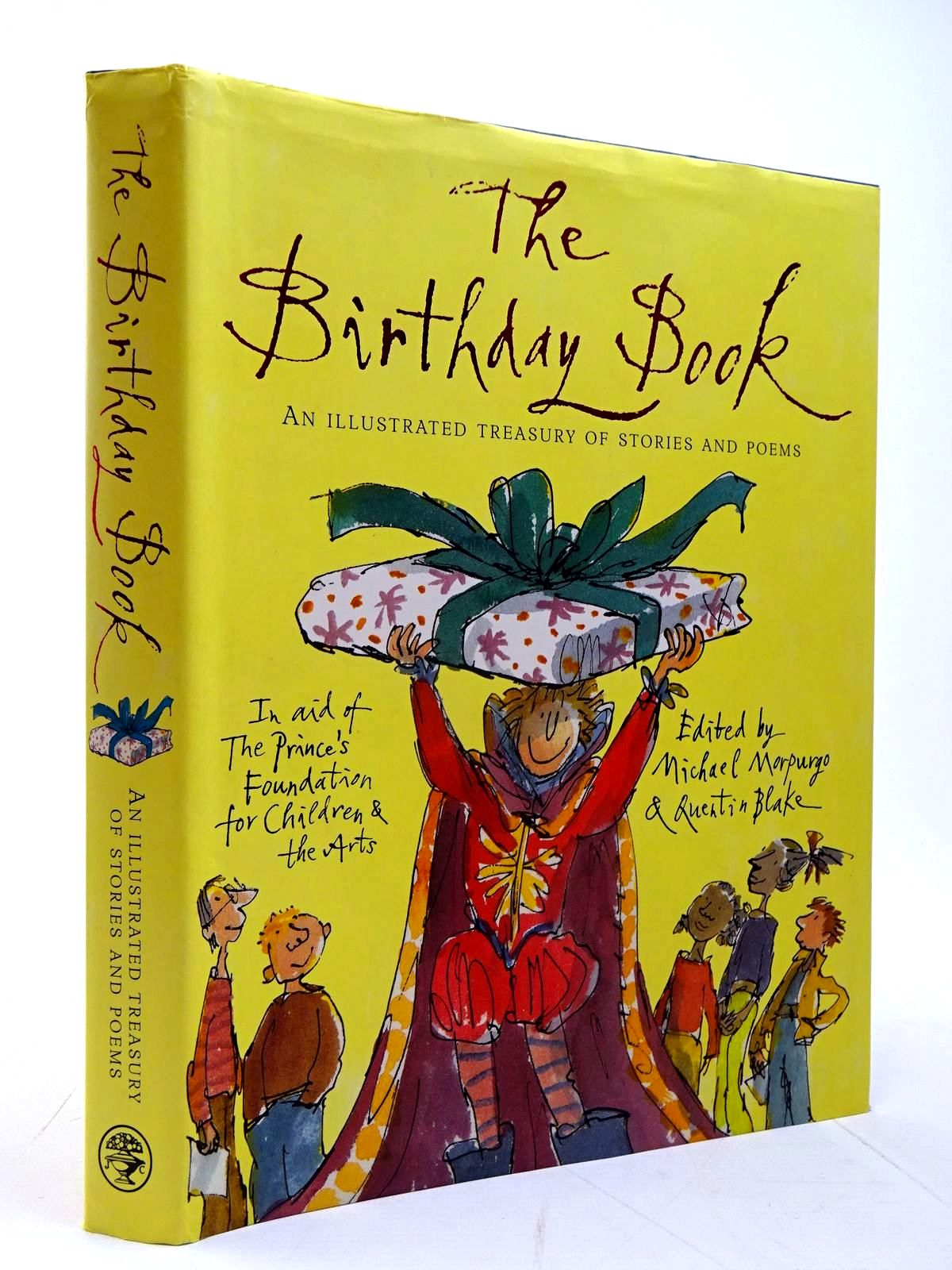 Photo of THE BIRTHDAY BOOK written by Morpurgo, Michael<br />Blake, Quentin illustrated by Bayley, Nicola<br />Clark, Emma Chichester<br />et al.,  published by Jonathan Cape (STOCK CODE: 2130581)  for sale by Stella & Rose's Books