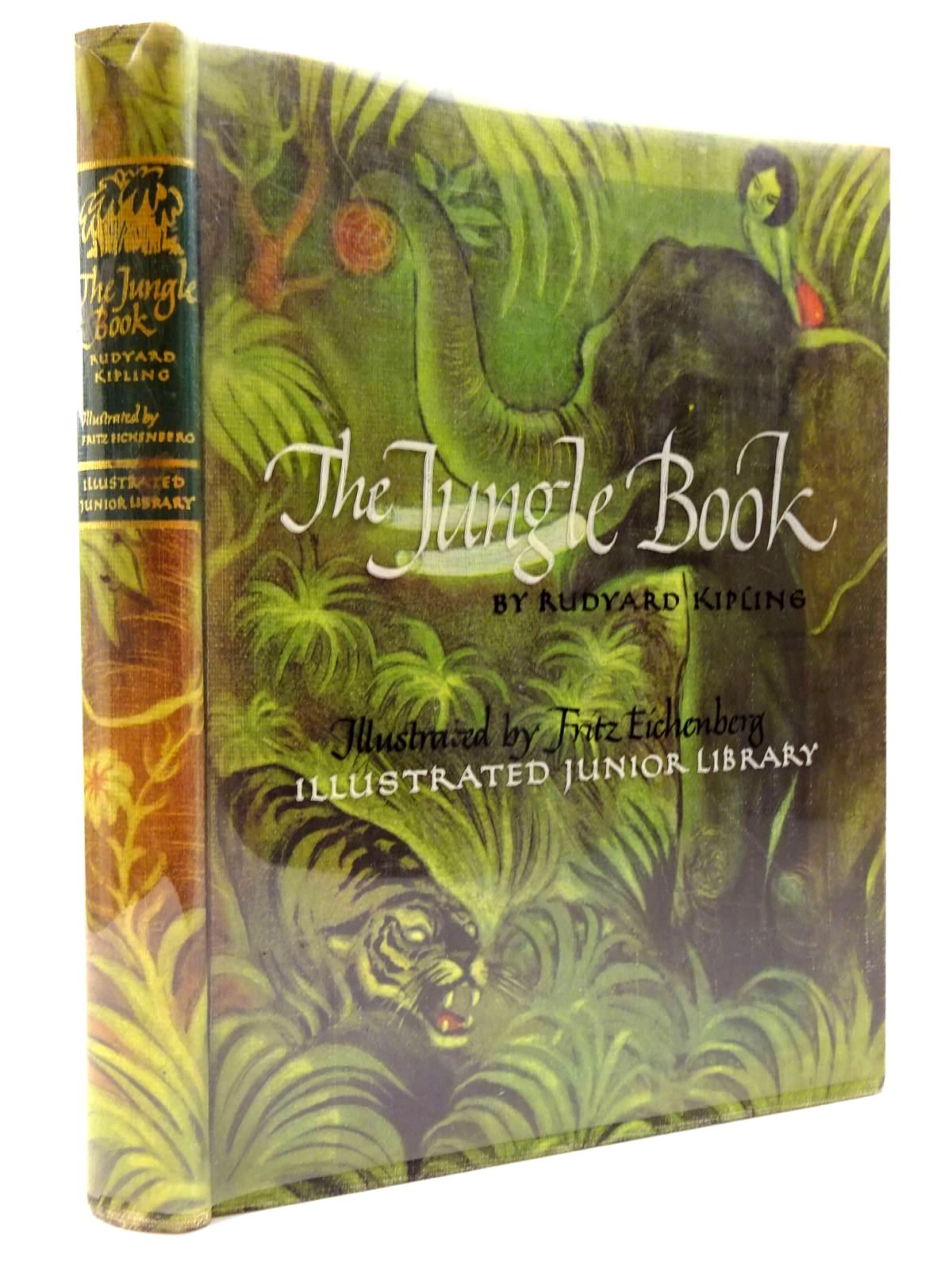 Photo of THE JUNGLE BOOK written by Kipling, Rudyard illustrated by Eichenberg, Fritz published by Grosset & Dunlap (STOCK CODE: 2130605)  for sale by Stella & Rose's Books