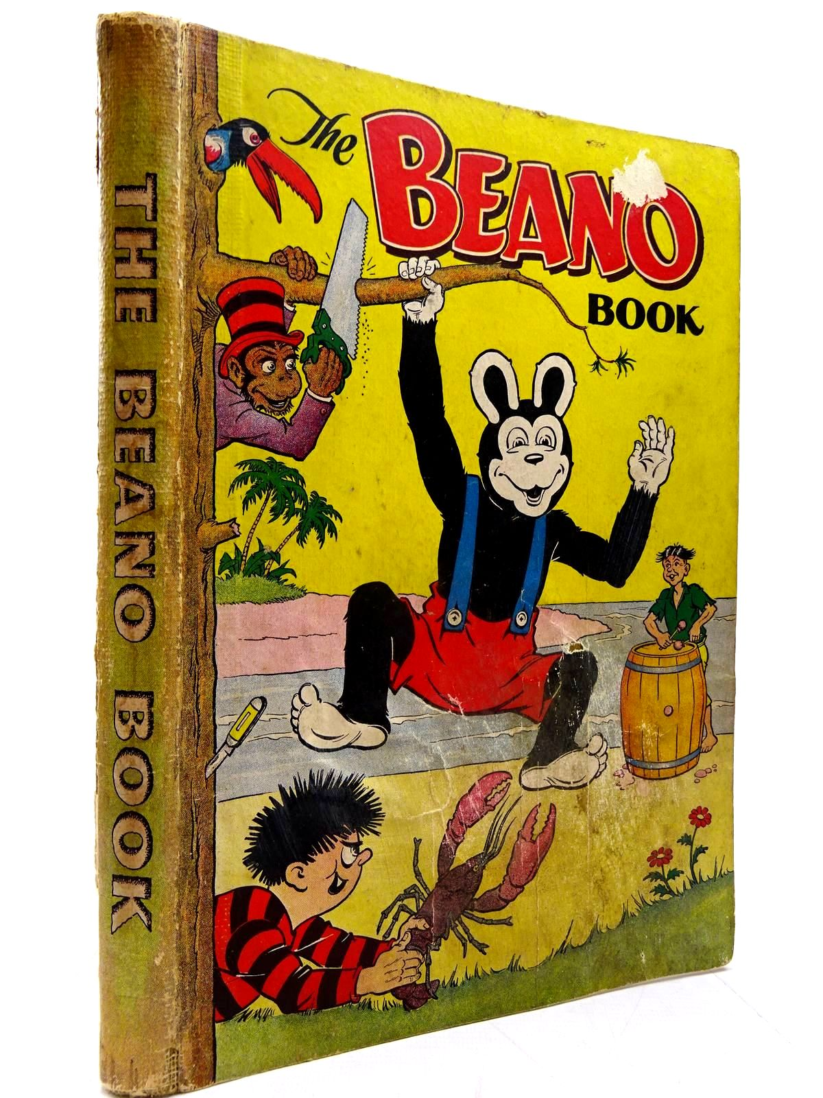 Photo of THE BEANO BOOK 1954 published by D.C. Thomson & Co Ltd. (STOCK CODE: 2130612)  for sale by Stella & Rose's Books
