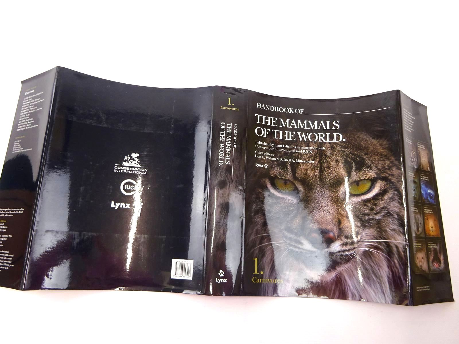 Photo of HANDBOOK OF THE MAMMALS OF THE WORLD 1. CARNIVORES written by Wilson, Don E. Mittermeier, Russell A. Cavallini, Paolo et al, published by Lynx Edicions (STOCK CODE: 2130635)  for sale by Stella & Rose's Books