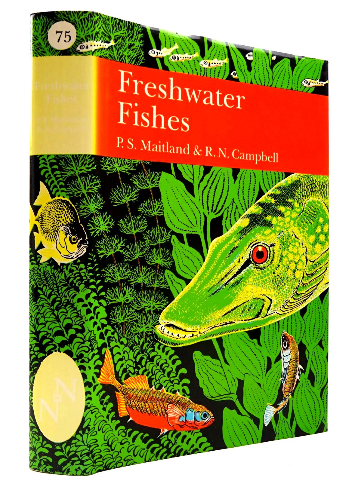 Photo of FRESHWATER FISHES OF THE BRITISH ISLES (NN 75)- Stock Number: 2130650