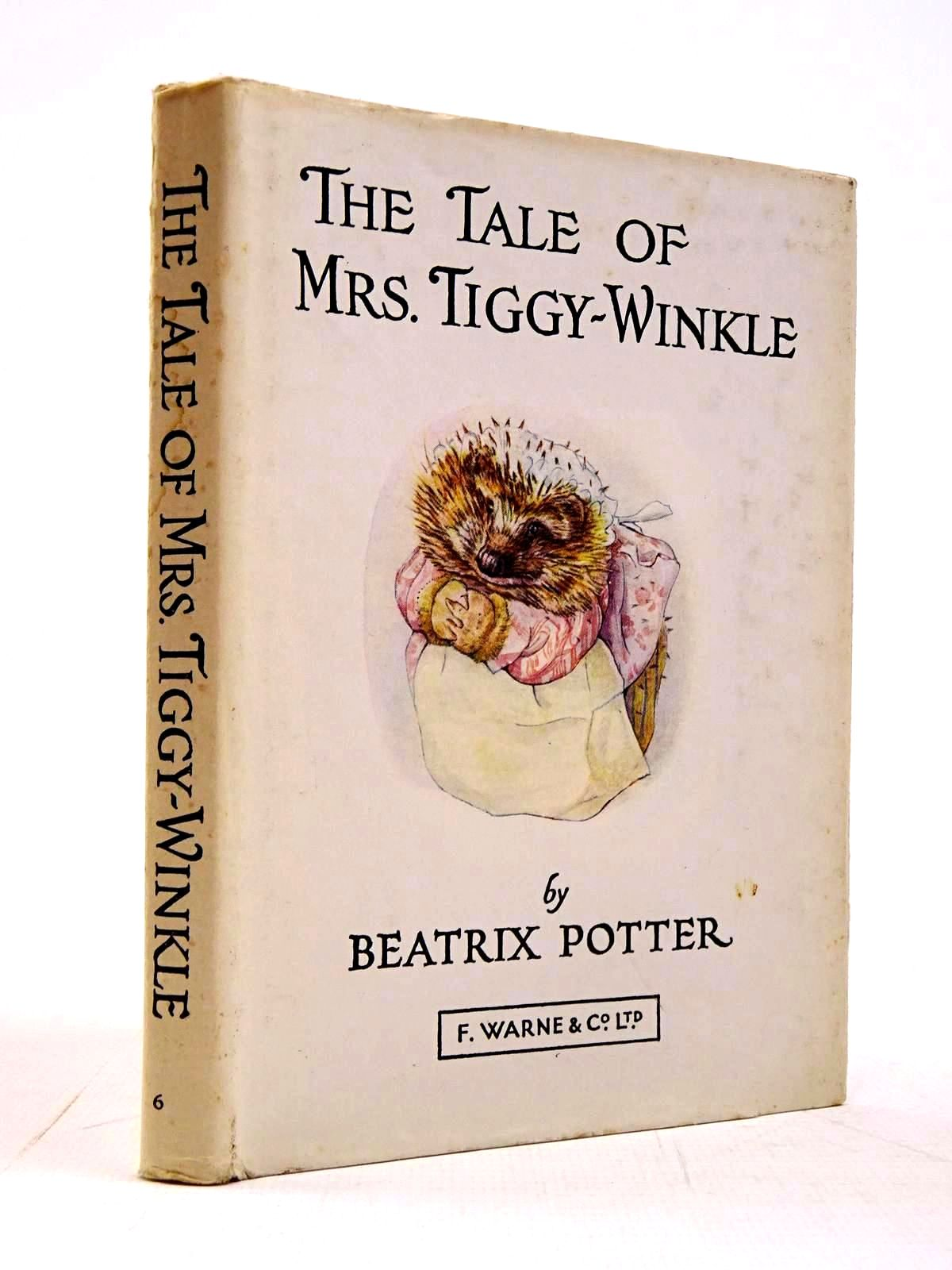 Photo of THE TALE OF MRS. TIGGY-WINKLE written by Potter, Beatrix illustrated by Potter, Beatrix published by Frederick Warne & Co Ltd. (STOCK CODE: 2130658)  for sale by Stella & Rose's Books
