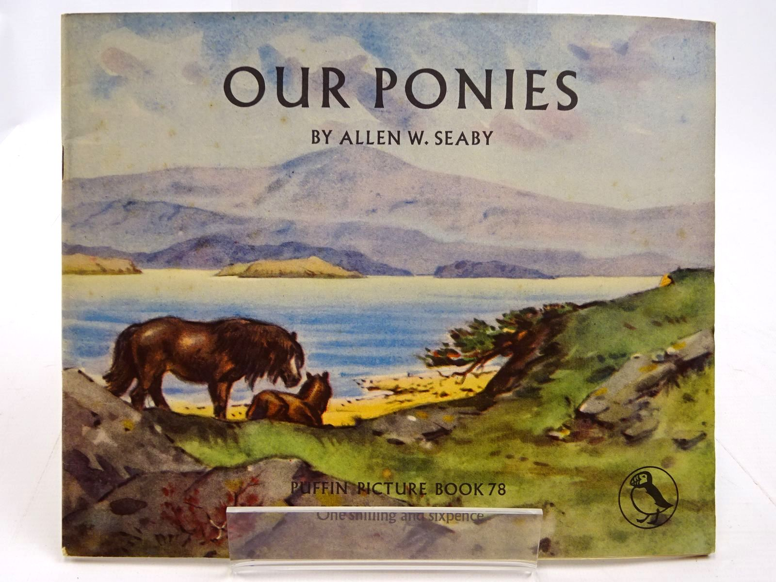 Photo of OUR PONIES written by Seaby, Allen W. illustrated by Seaby, Allen published by Penguin (STOCK CODE: 2130689)  for sale by Stella & Rose's Books