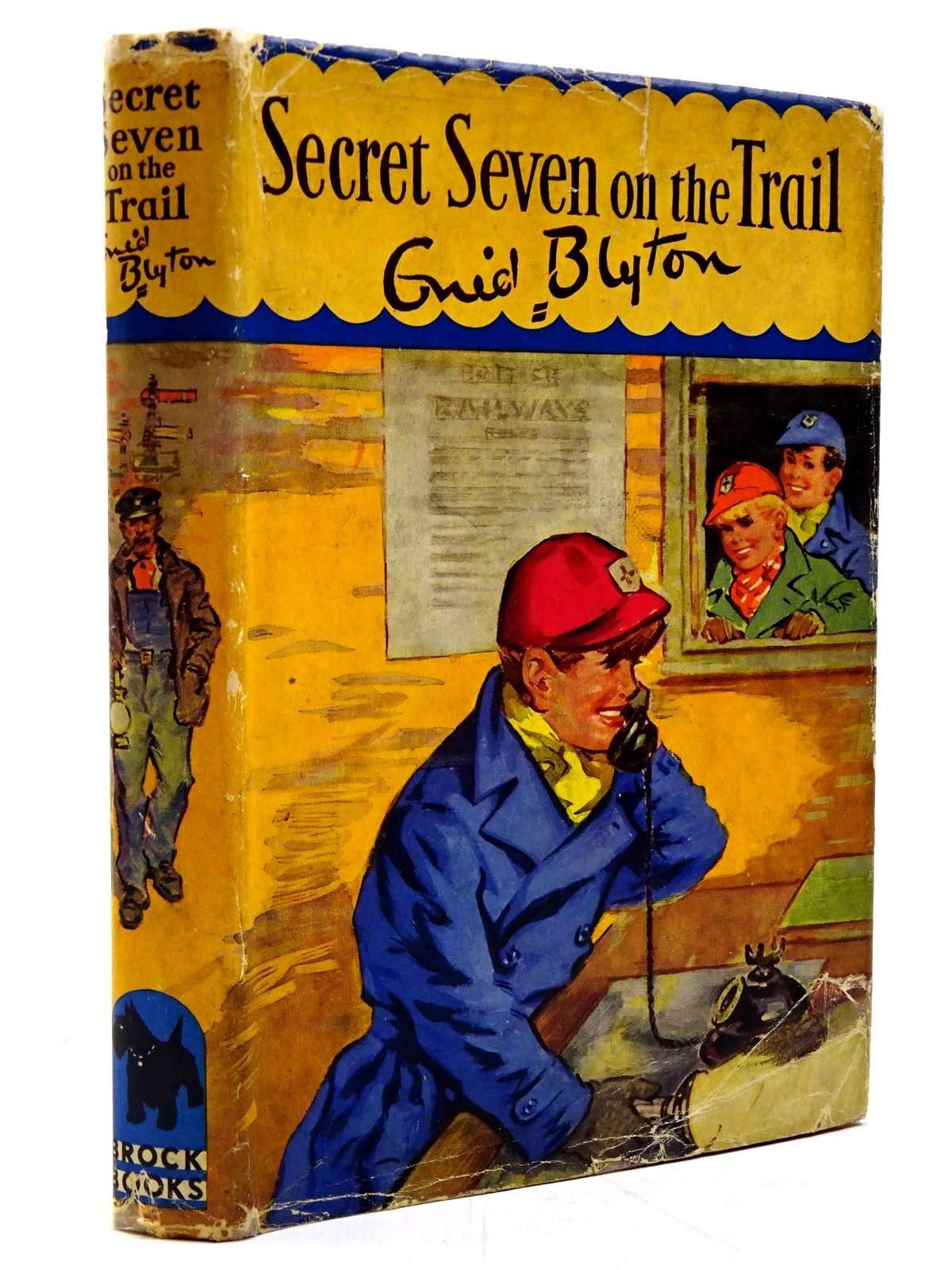 Photo of SECRET SEVEN ON THE TRAIL written by Blyton, Enid illustrated by Brook, George published by The Brockhampton Press Ltd. (STOCK CODE: 2130712)  for sale by Stella & Rose's Books