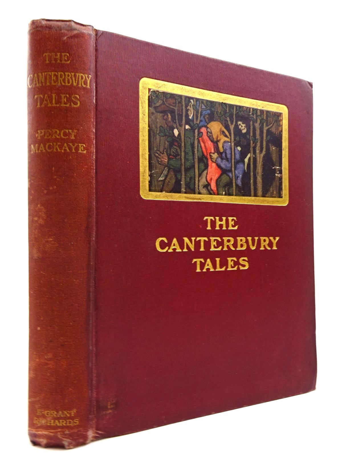 Photo of THE CANTERBURY TALES OF GEOFFREY CHAUCER written by Mackaye, Percy<br />Chaucer, Geoffrey illustrated by Clark, Walter Appleton published by E. Grant Richards (STOCK CODE: 2130745)  for sale by Stella & Rose's Books