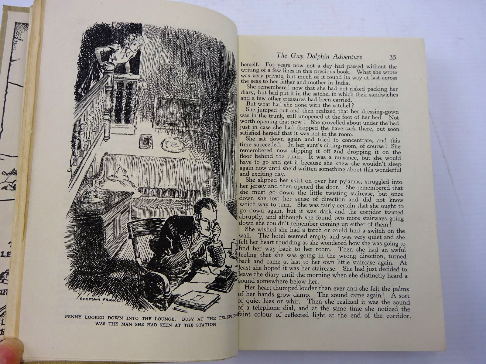 Photo of THE GAY DOLPHIN ADVENTURE written by Saville, Malcolm illustrated by Prance, Bertram published by George Newnes Ltd. (STOCK CODE: 2130747)  for sale by Stella & Rose's Books