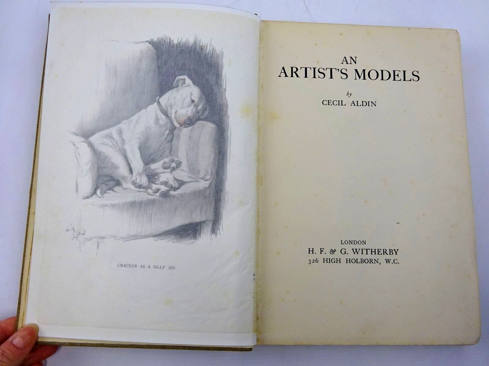 Photo of AN ARTIST'S MODELS written by Aldin, Cecil illustrated by Aldin, Cecil published by H. F. & G. Witherby (STOCK CODE: 2130753)  for sale by Stella & Rose's Books