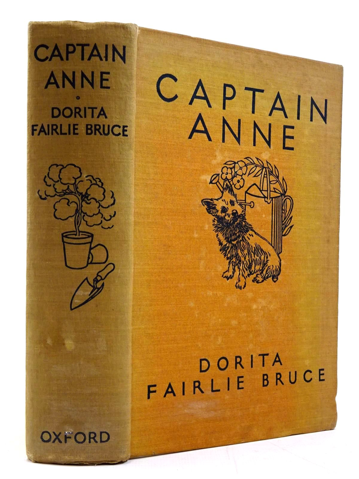 Photo of CAPTAIN ANNE written by Bruce, Dorita Fairlie illustrated by Johnston, M.D. published by Oxford University Press, Humphrey Milford (STOCK CODE: 2130763)  for sale by Stella & Rose's Books