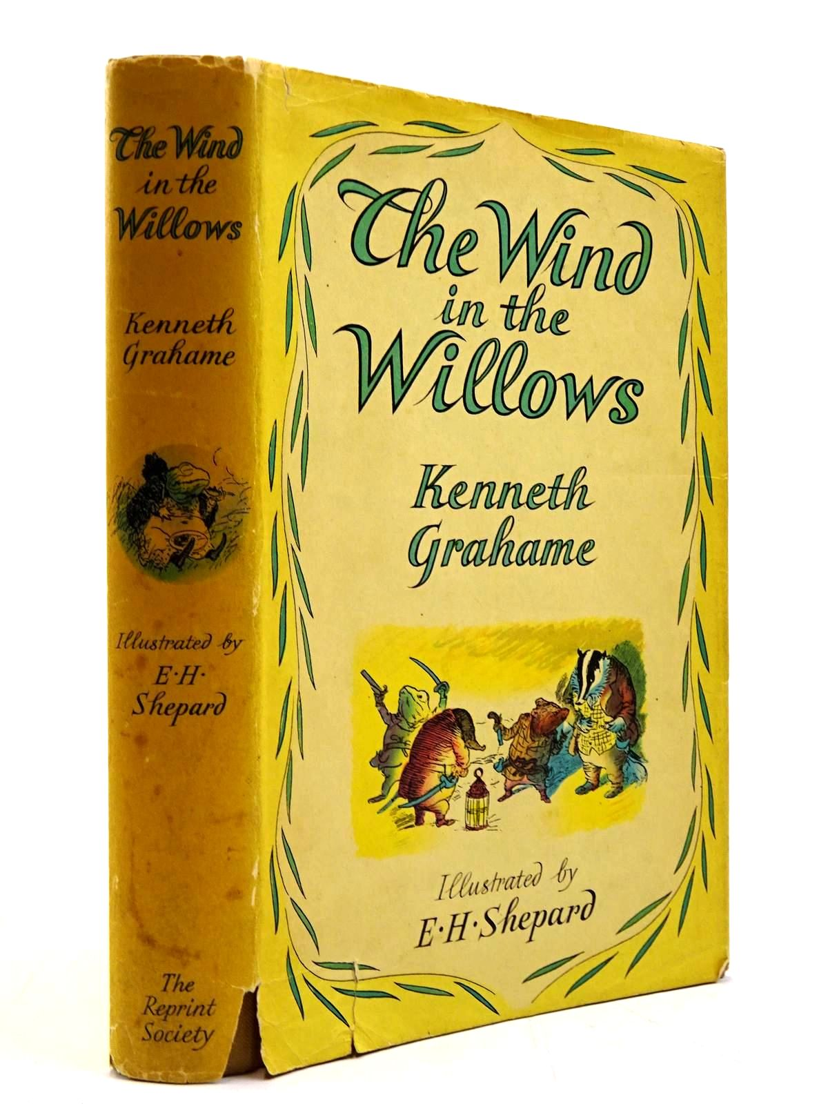 Photo of THE WIND IN THE WILLOWS written by Grahame, Kenneth illustrated by Shepard, E.H. published by The Reprint Society (STOCK CODE: 2130772)  for sale by Stella & Rose's Books