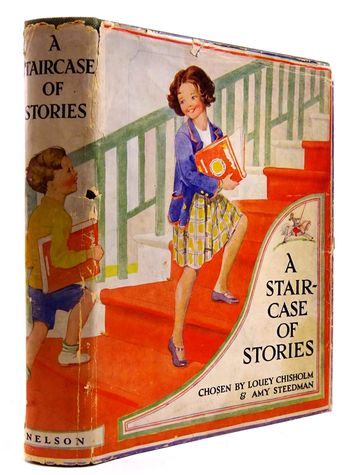 Photo of A STAIRCASE OF STORIES written by Chisholm, Louey<br />Steedman, Amy illustrated by Spooner, Minnie Dibdin<br />et al.,  published by Thomas Nelson &amp; Sons (STOCK CODE: 2130774)  for sale by Stella & Rose's Books