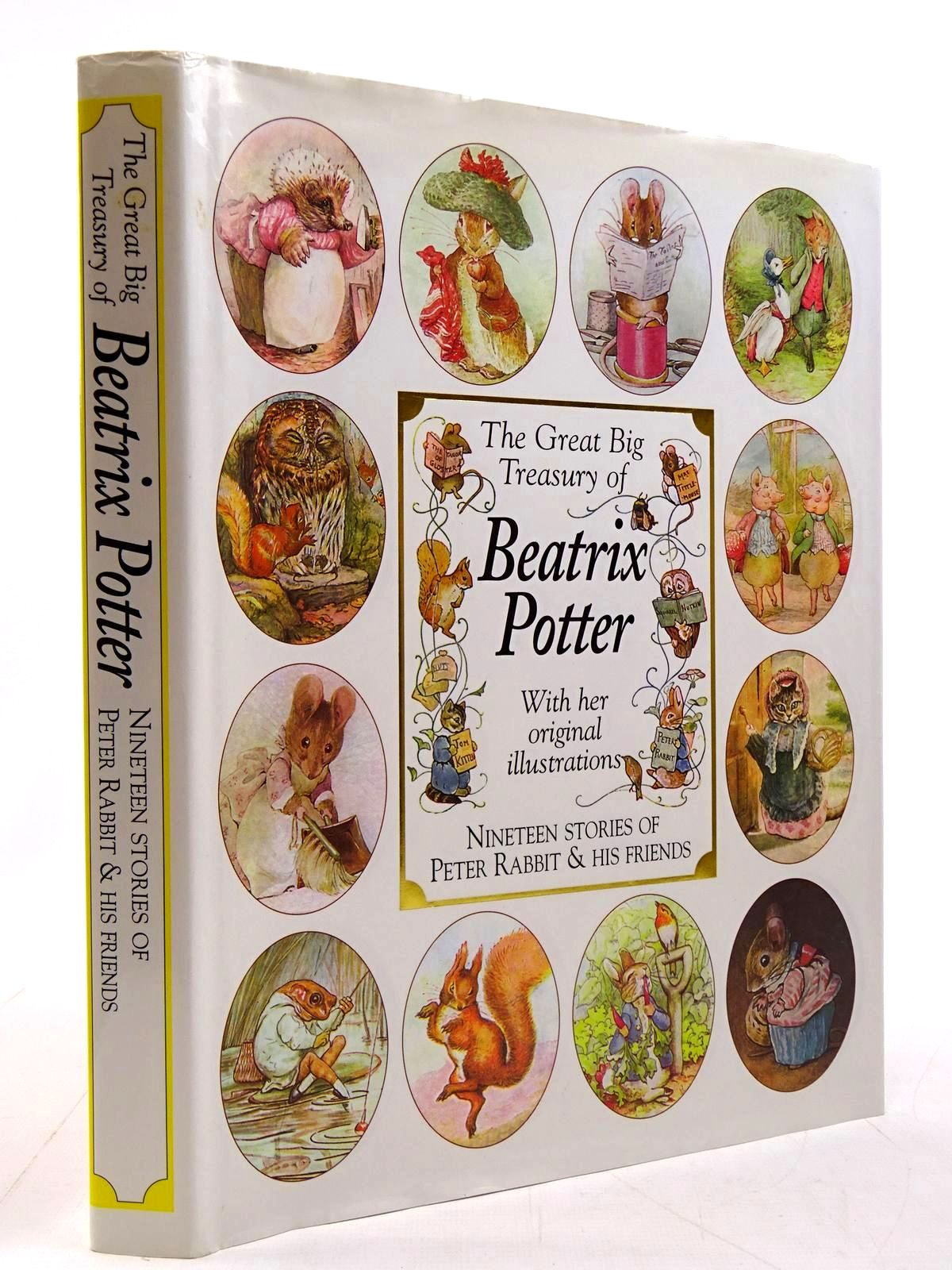 Photo of THE GREAT BIG TREASURY OF BEATRIX POTTER written by Potter, Beatrix illustrated by Potter, Beatrix published by Leopard (STOCK CODE: 2130783)  for sale by Stella & Rose's Books