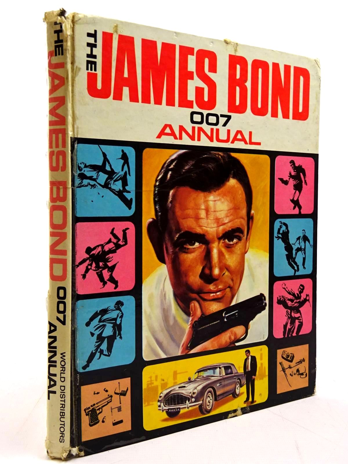 Photo of THE JAMES BOND 007 ANNUAL- Stock Number: 2130825